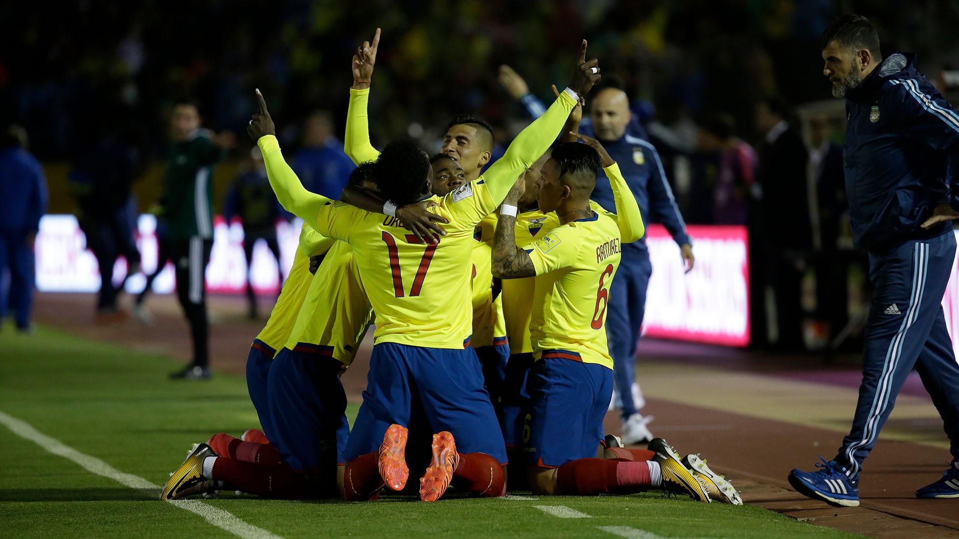 Ecuador fue de mayor a menor y no pudo con la jerarquía de sus rivales