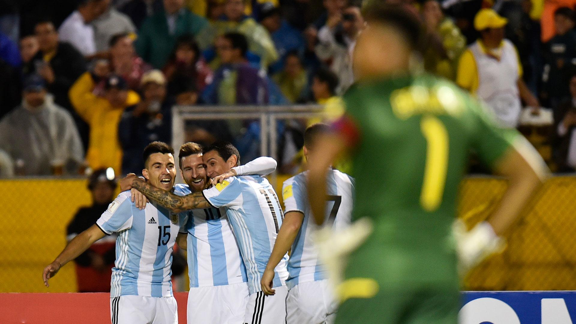 Lionel Messi, el hombre que brilló sobre los 2.850 metros sobre el nivel del mar brindó su mejor espectáculo con una obra maestra