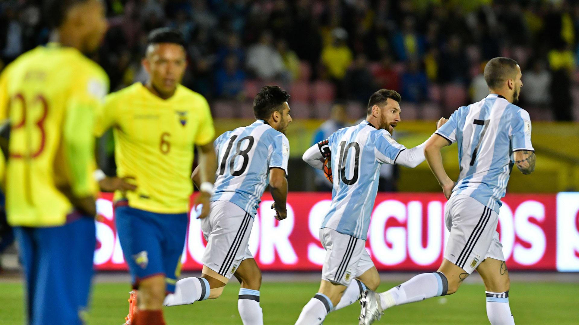 La estrella de Messi será acompañada por los estandartes que se redimieron en Ecuador