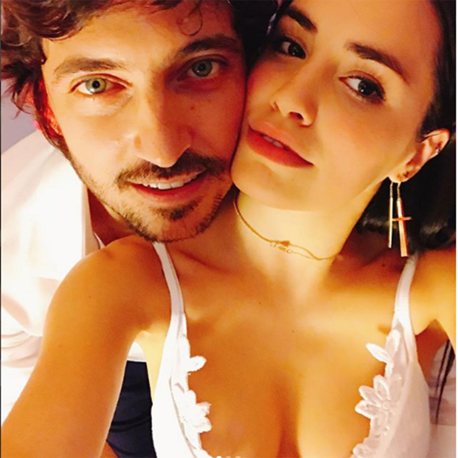 La actriz y cantante Lali Espósito cumplió 26 años y lo celebró con su pareja, Santiago Mocorrea