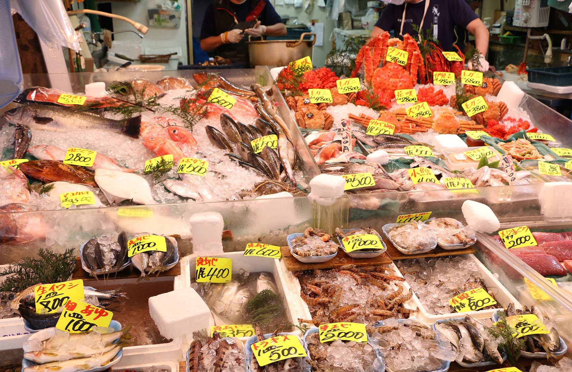 La calidad de los frutos de mar es uno de los detalles más importantes a la hora de comprar (Getty images)