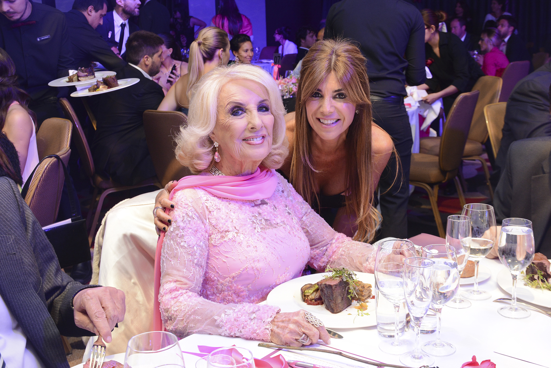 Mirtha Legrand y Lina Anllo