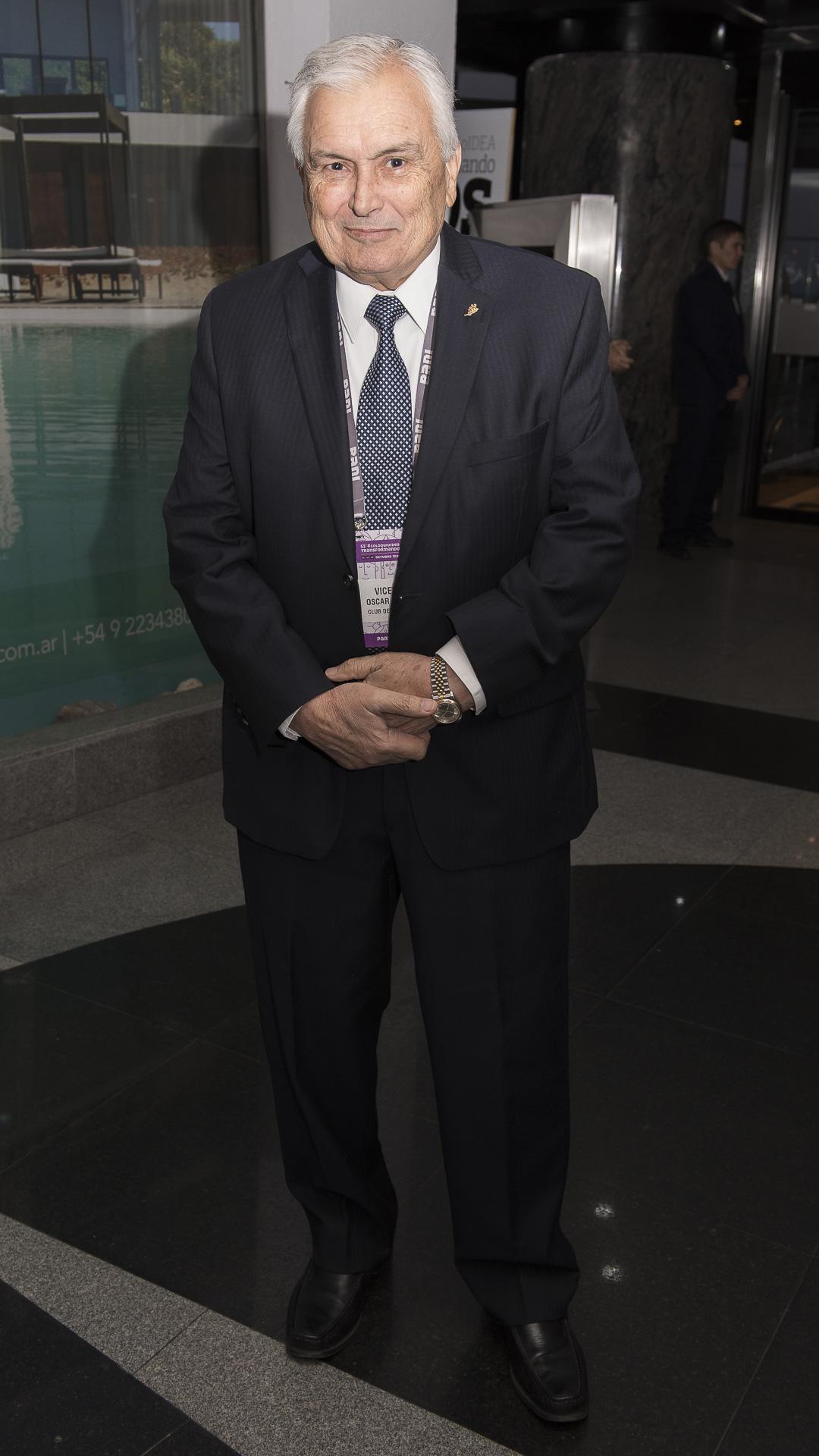 El empresario Oscar Vicente