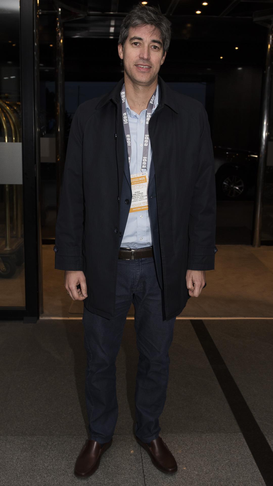 Adrián Pérez , secrretario de Asuntos Polìticos e Institucionales de la Naciòn