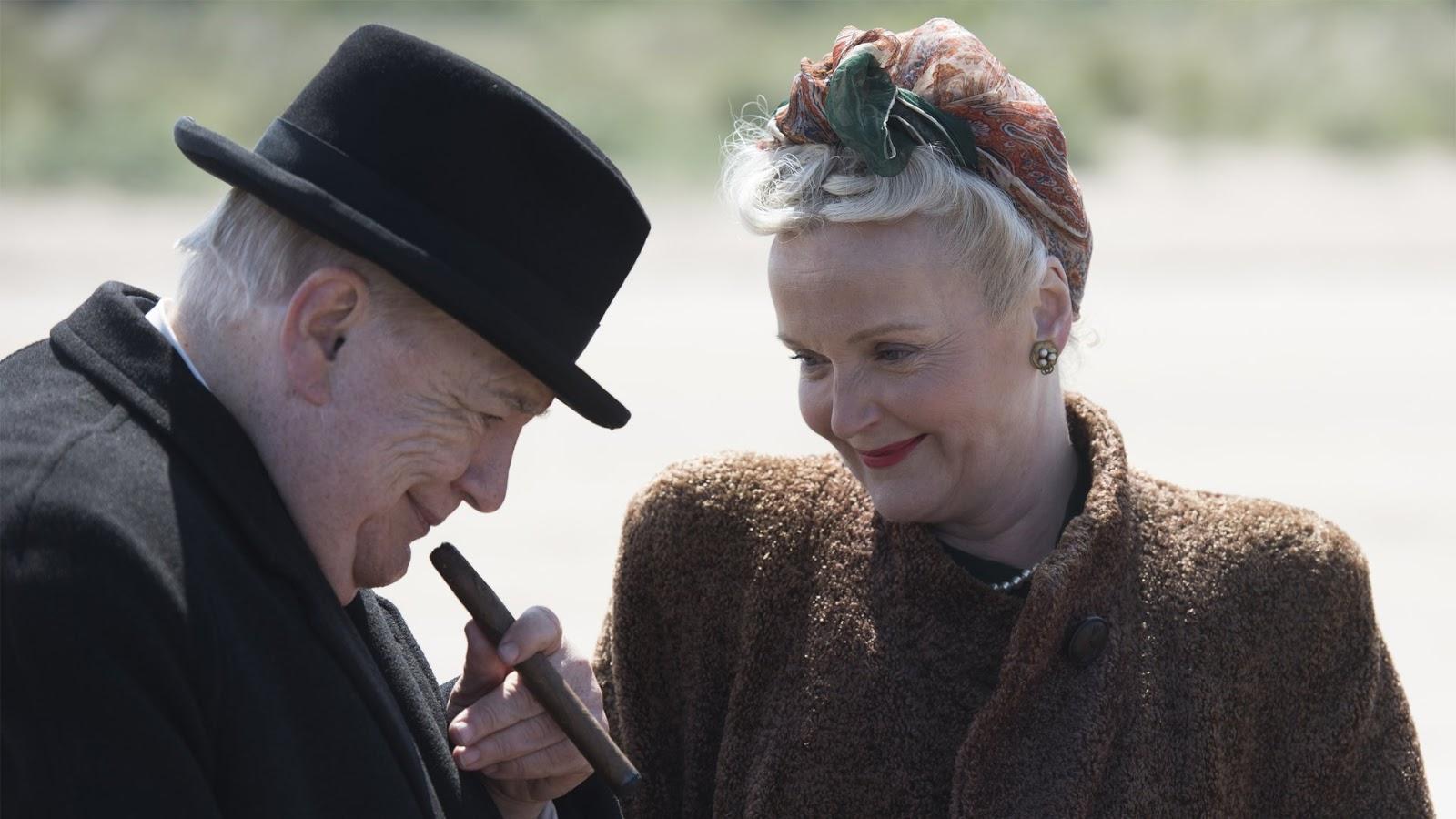 Es una de las dos películas que se estrenaron en 2017 sobre la figura de Winston Churchill.