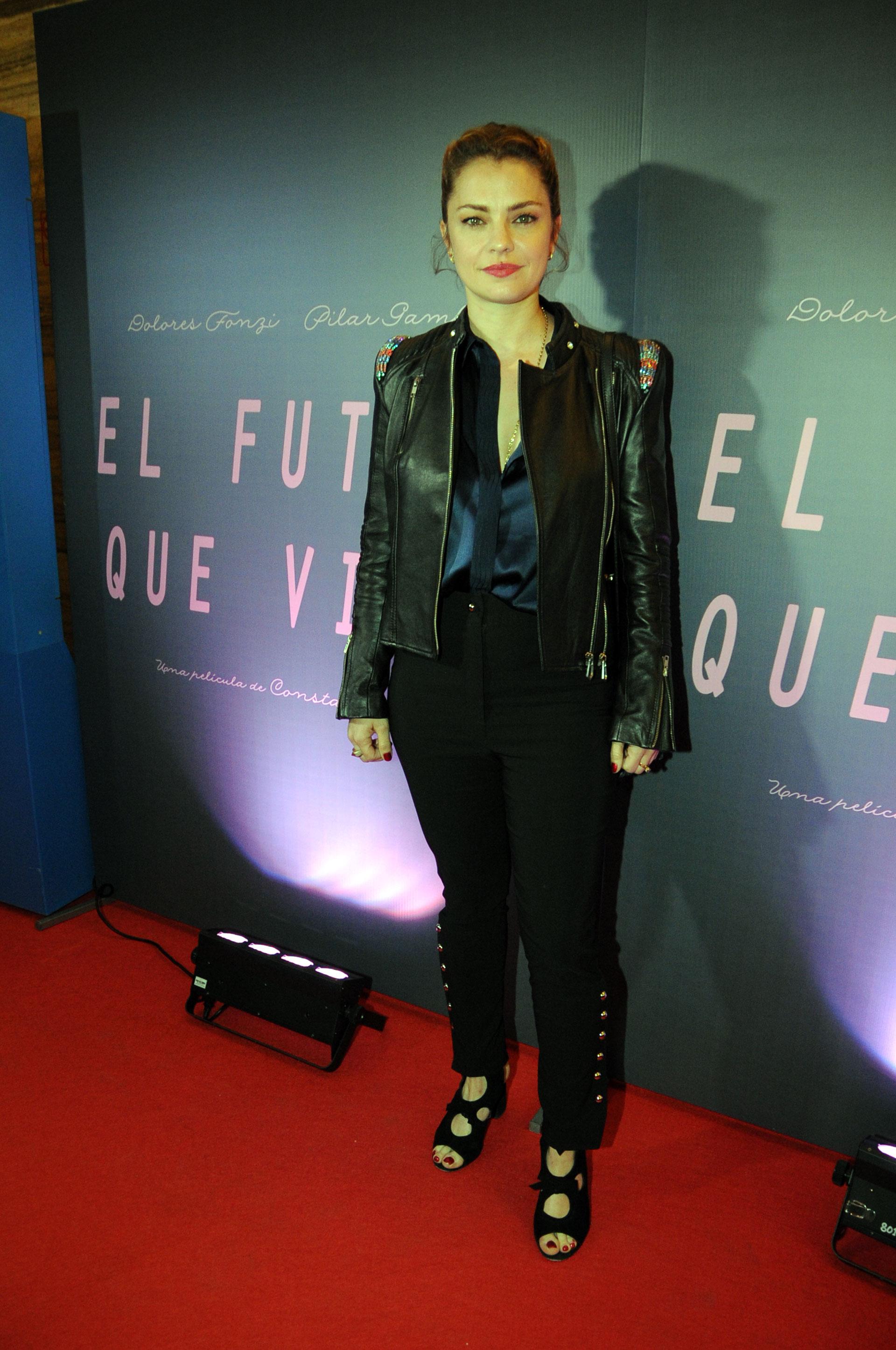 """Dolores Fonzi en el estreno de su nueva película """"El futuro que viene"""" (Teleshow)"""