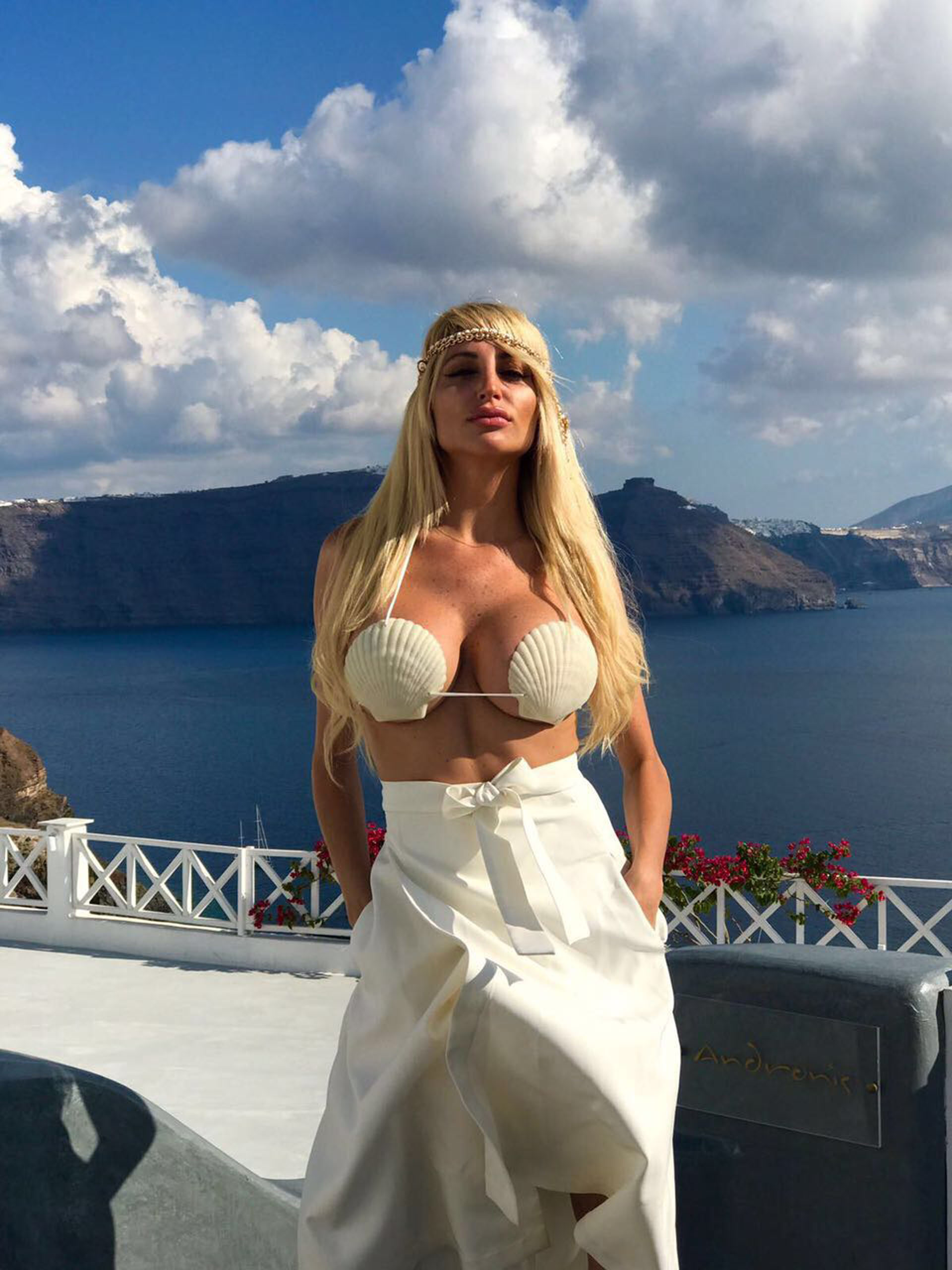 Fotos Vicky Xipolitakis nudes (25 images), Boobs