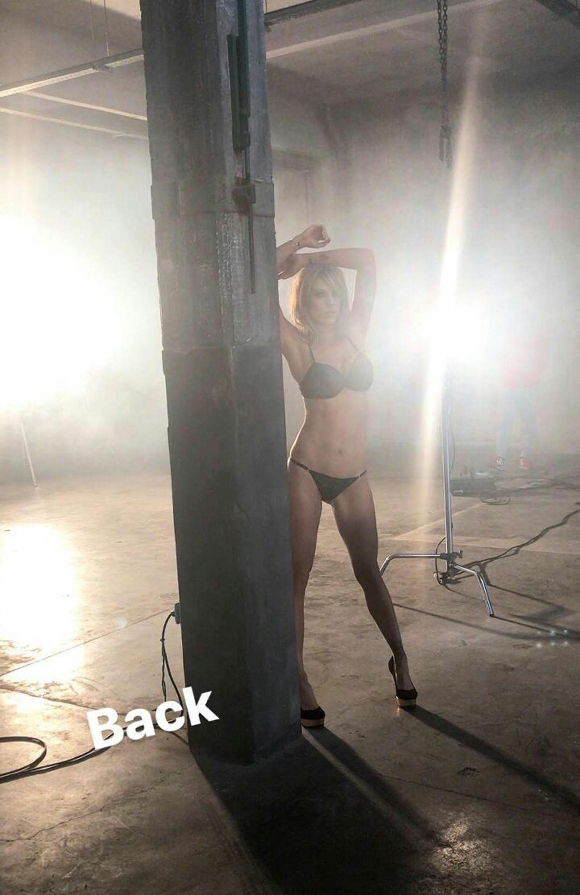 El back de la producción de Juliana Giambroni