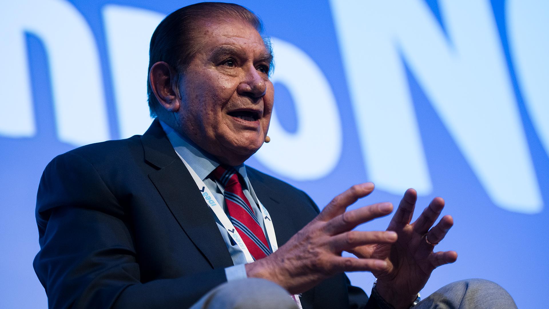 Guillermo Pereyra, senador por Neuquén y Secretario del Sindicato de Petroleo y Gas Privado de Neuquén, Río Negro y La Pampa