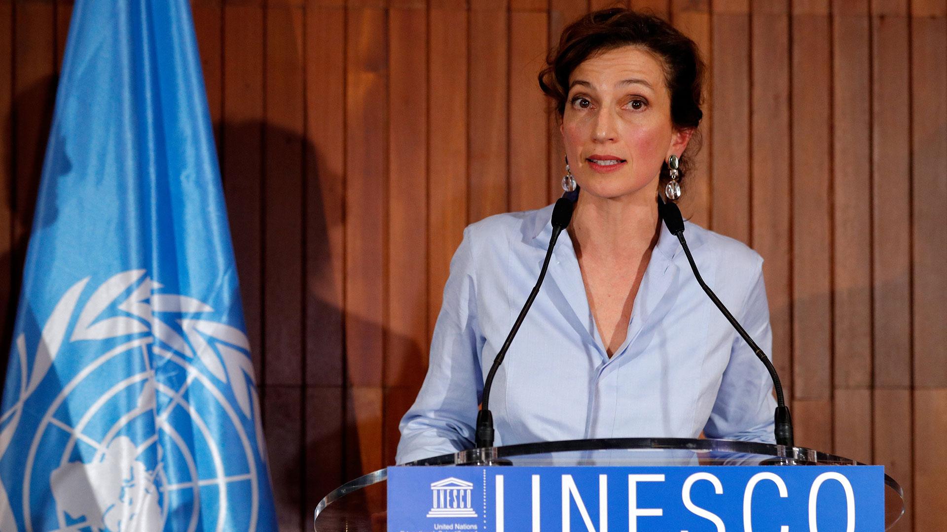 Audrey Azoulay fue elegida para dirigir la Unesco (Reuters)