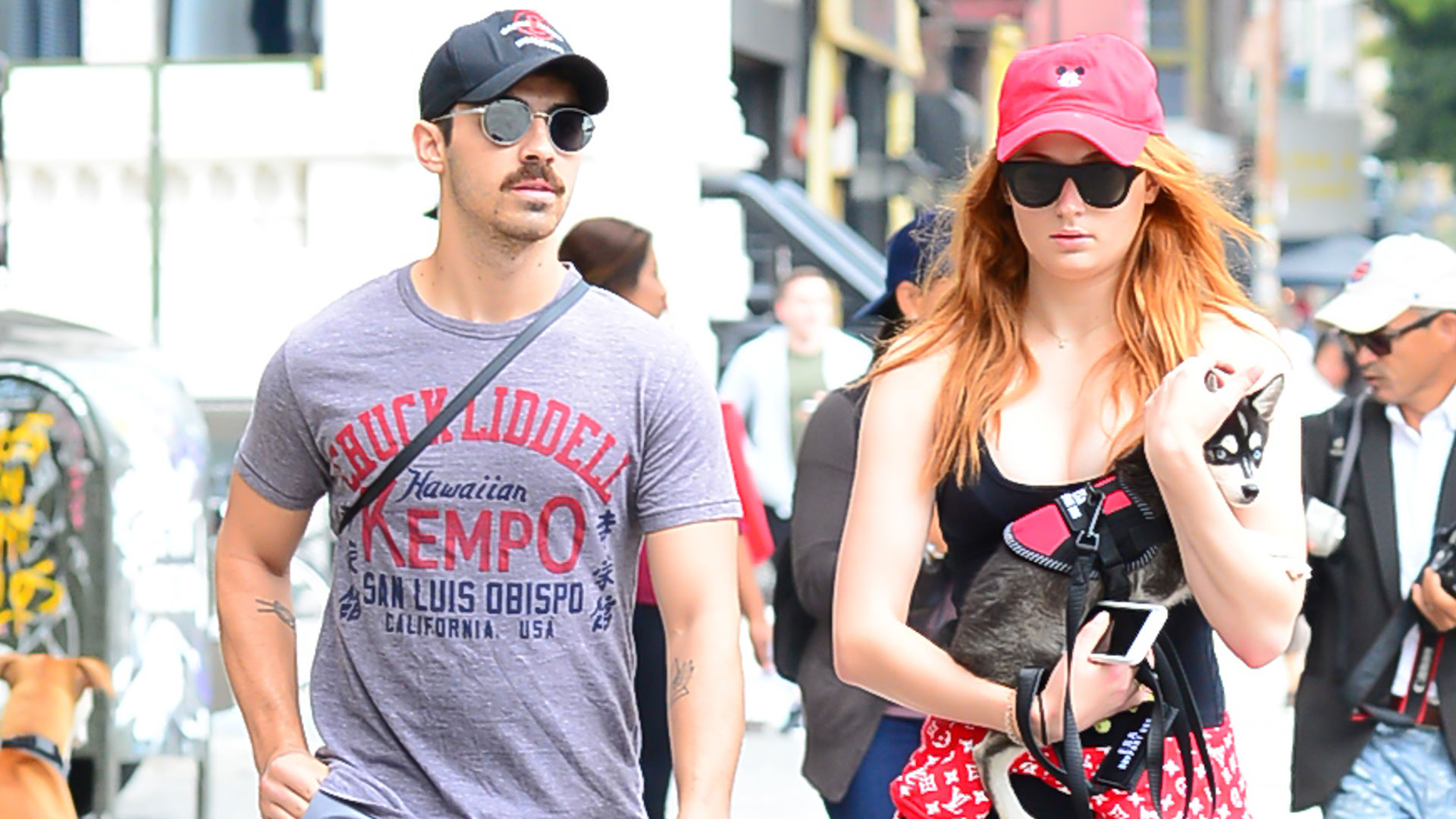 Sophie Turner y Joe Jonas (Getty Images)