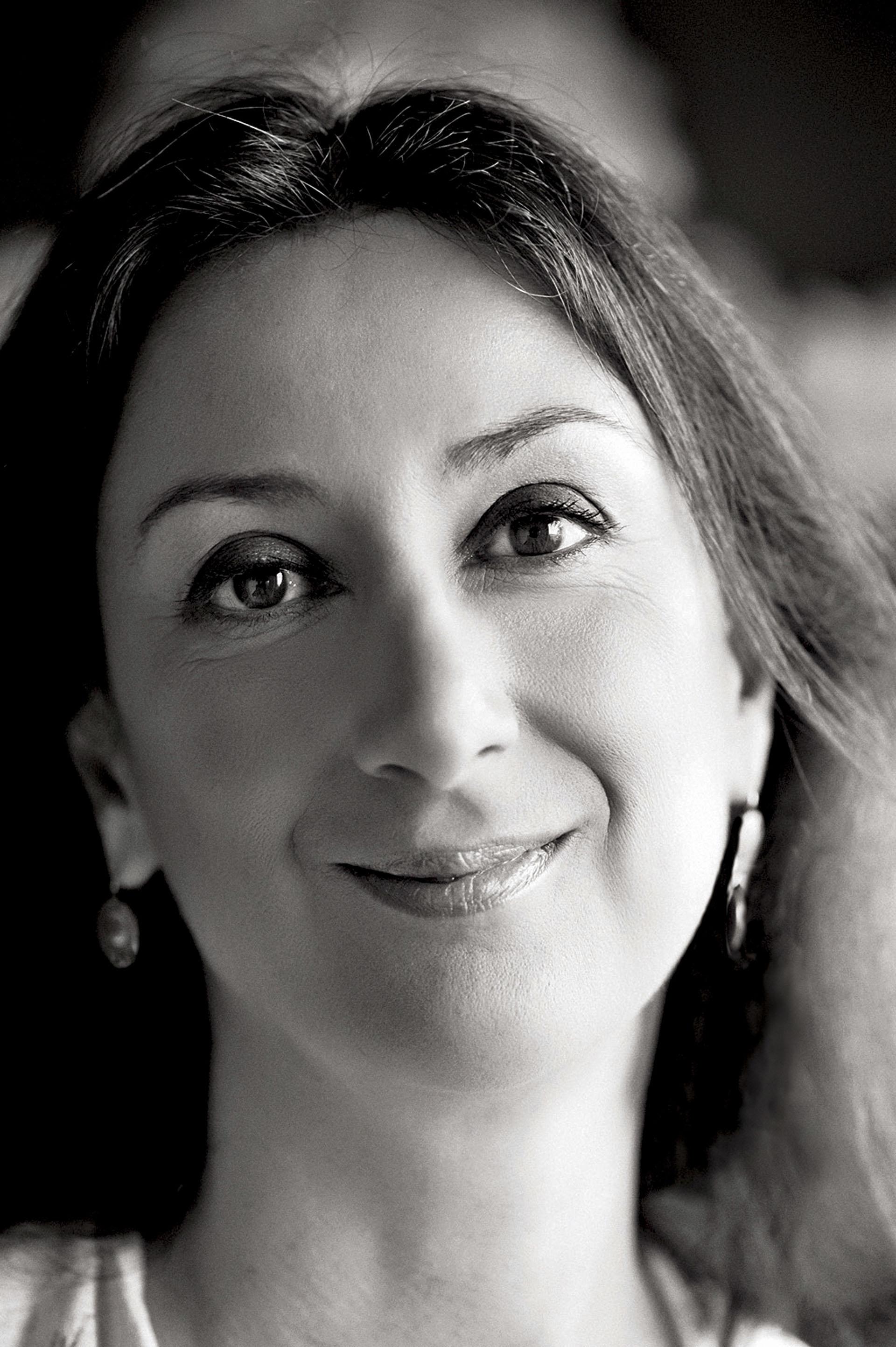 Daphne Caruana Galizia fue asesinada (The Malta Independent via AP)