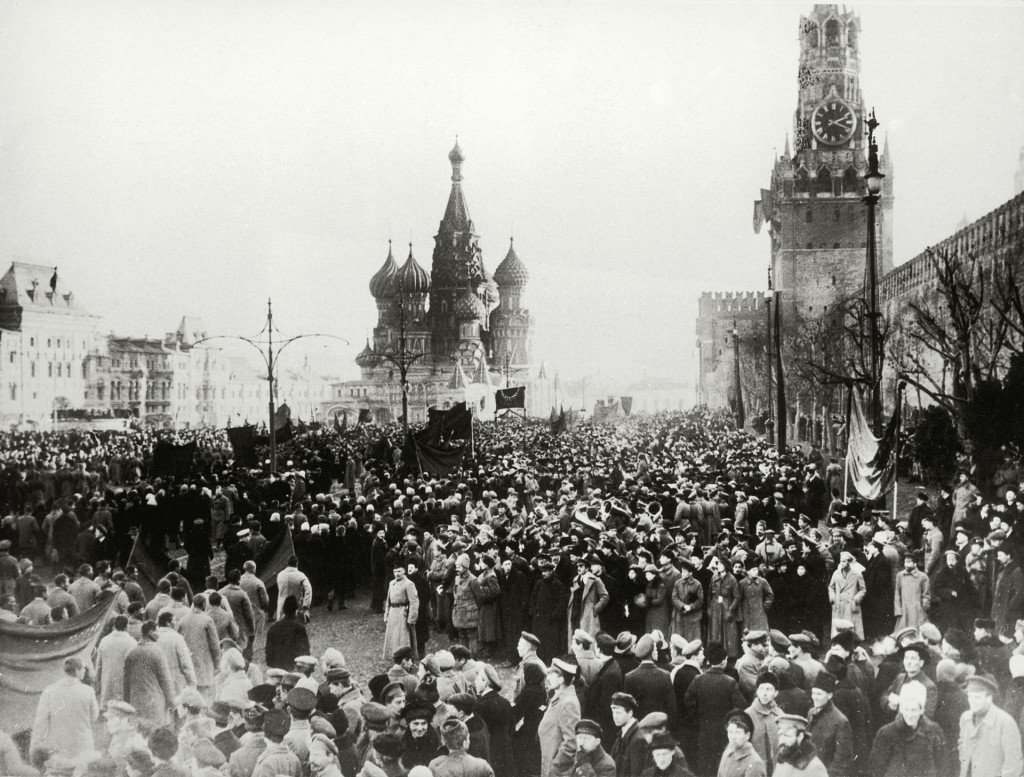 UNSPECIFIED - CIRCA 1917: Moscow 1917, The picture shows the Kreml in Moscow-Uprisings during the revolution, Photograph, October 1917 (Photo by Imagno/Getty Images) [Moskau 1917, Das Bild zeigt den Kreml in Moskau-Aufst?nde der Revolution, Photographie, Oktober 1917]