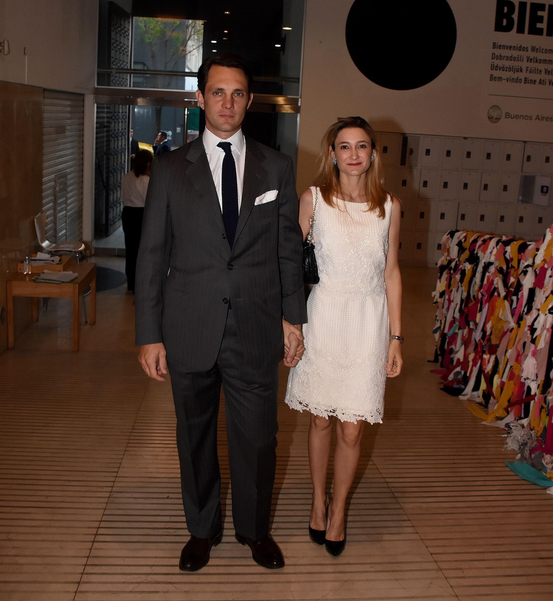 Patricio Neuss y su mujer María Blaquier