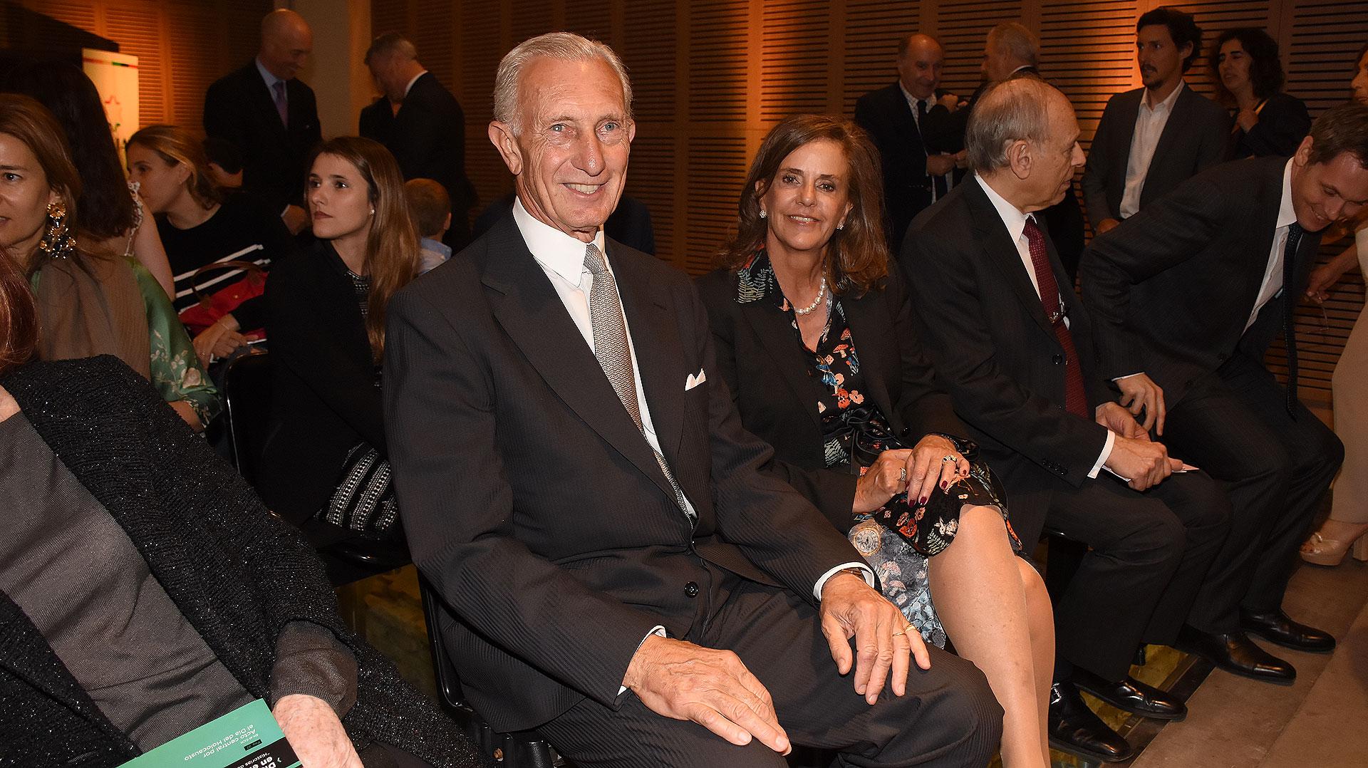 Jorge Neuss y su mujer, Silvia Saravia de Neuss