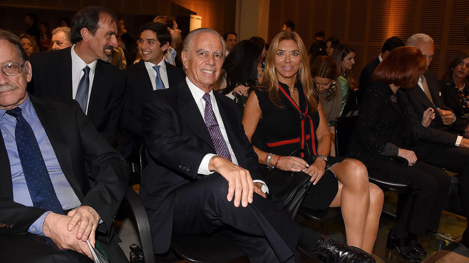Alejandro y Bettina Bulgheroni en primera fila