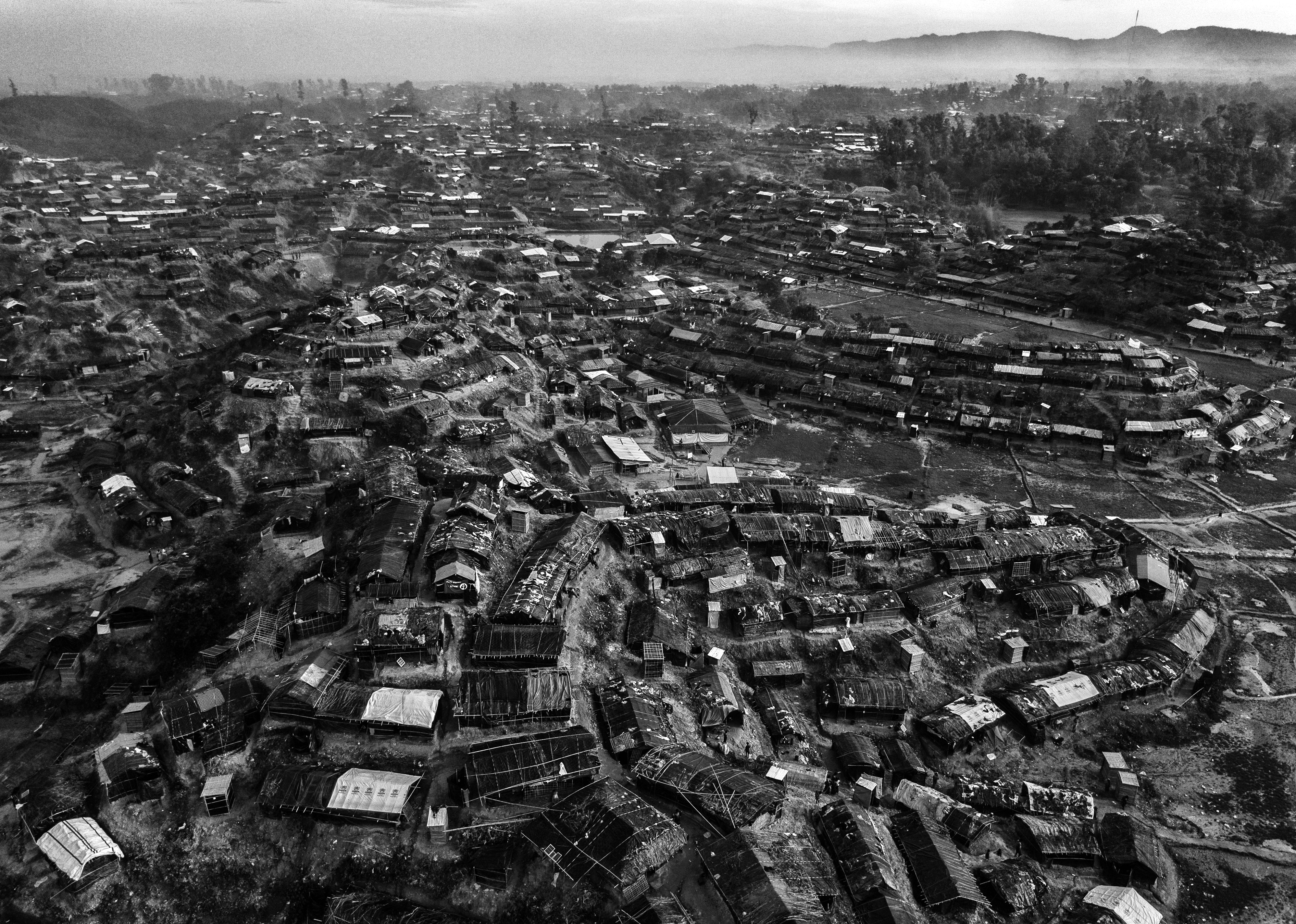 Un campo de refugiados enCox's Bazar, Bangladesh (Kevin Frayer/Getty Images)