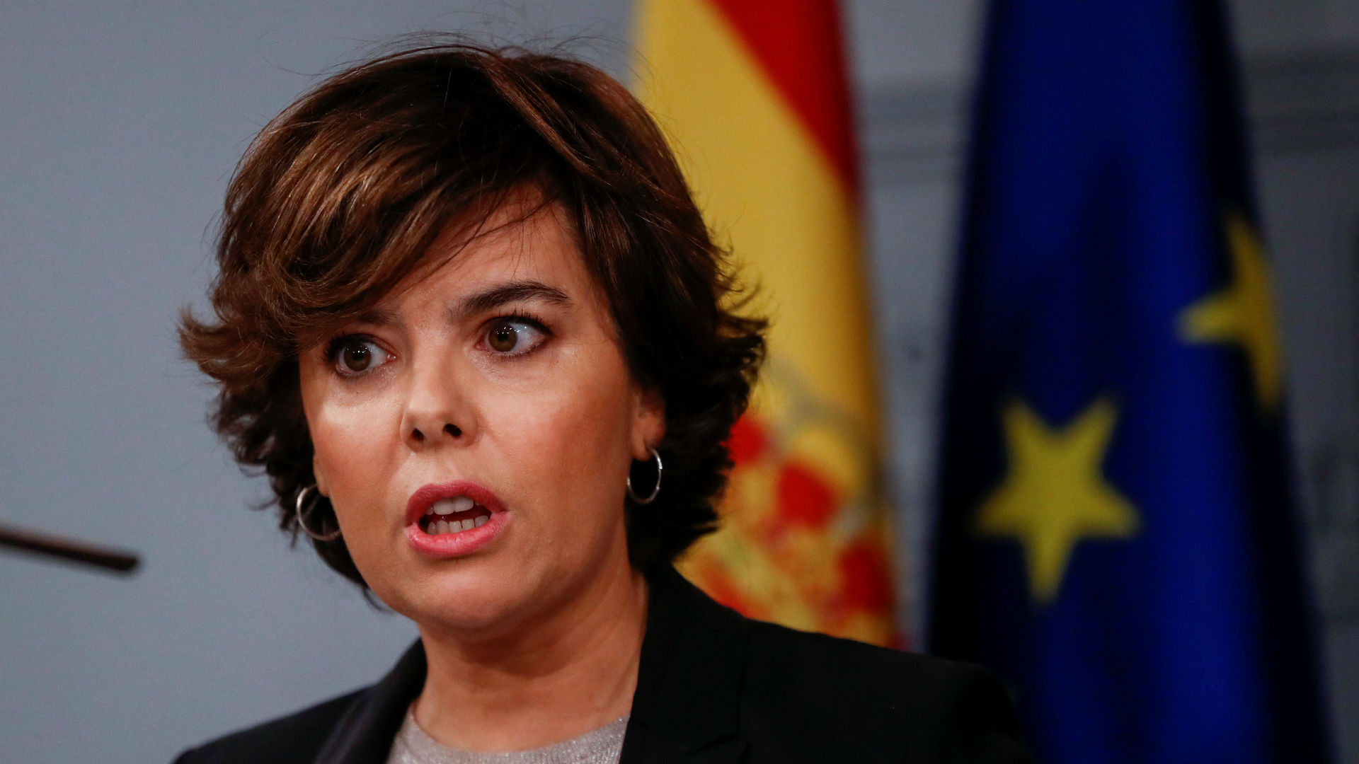 Soraya Sáenz de Santamaría, vicepresidente española (Reuters)