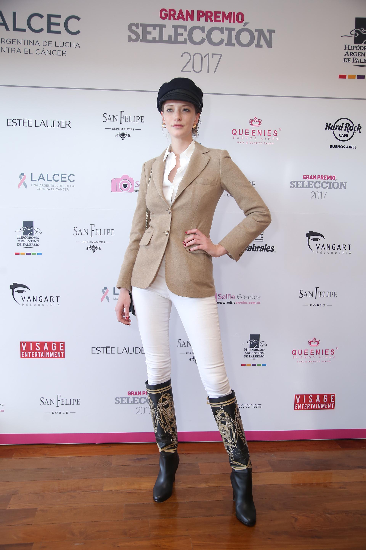 La top model argentina que triunfa en las pasarelas internacionales, Milagros Schmoll