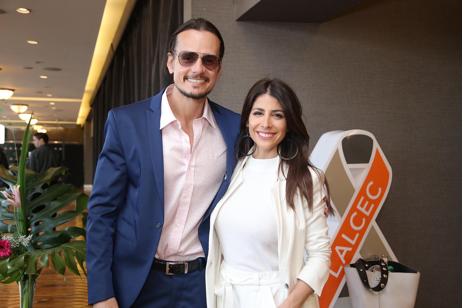 Christian Sancho y Majo Martino estuvieron a cargo de la conducción del evento