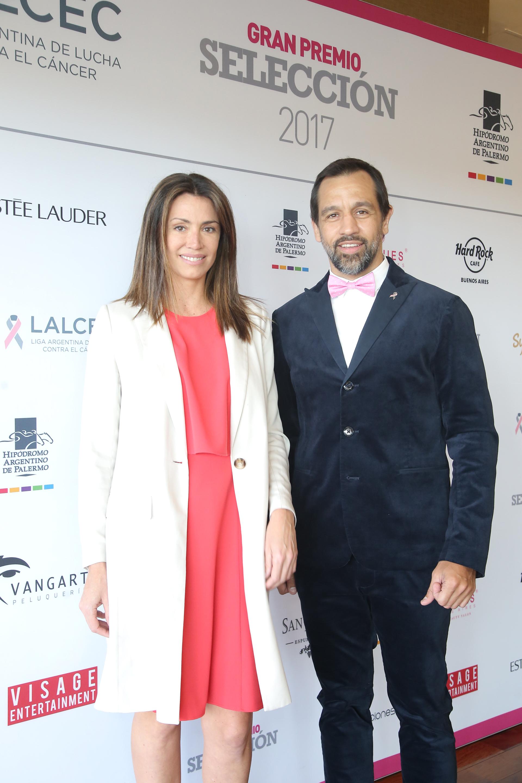 Verónica Quintana y Diego Paonessa