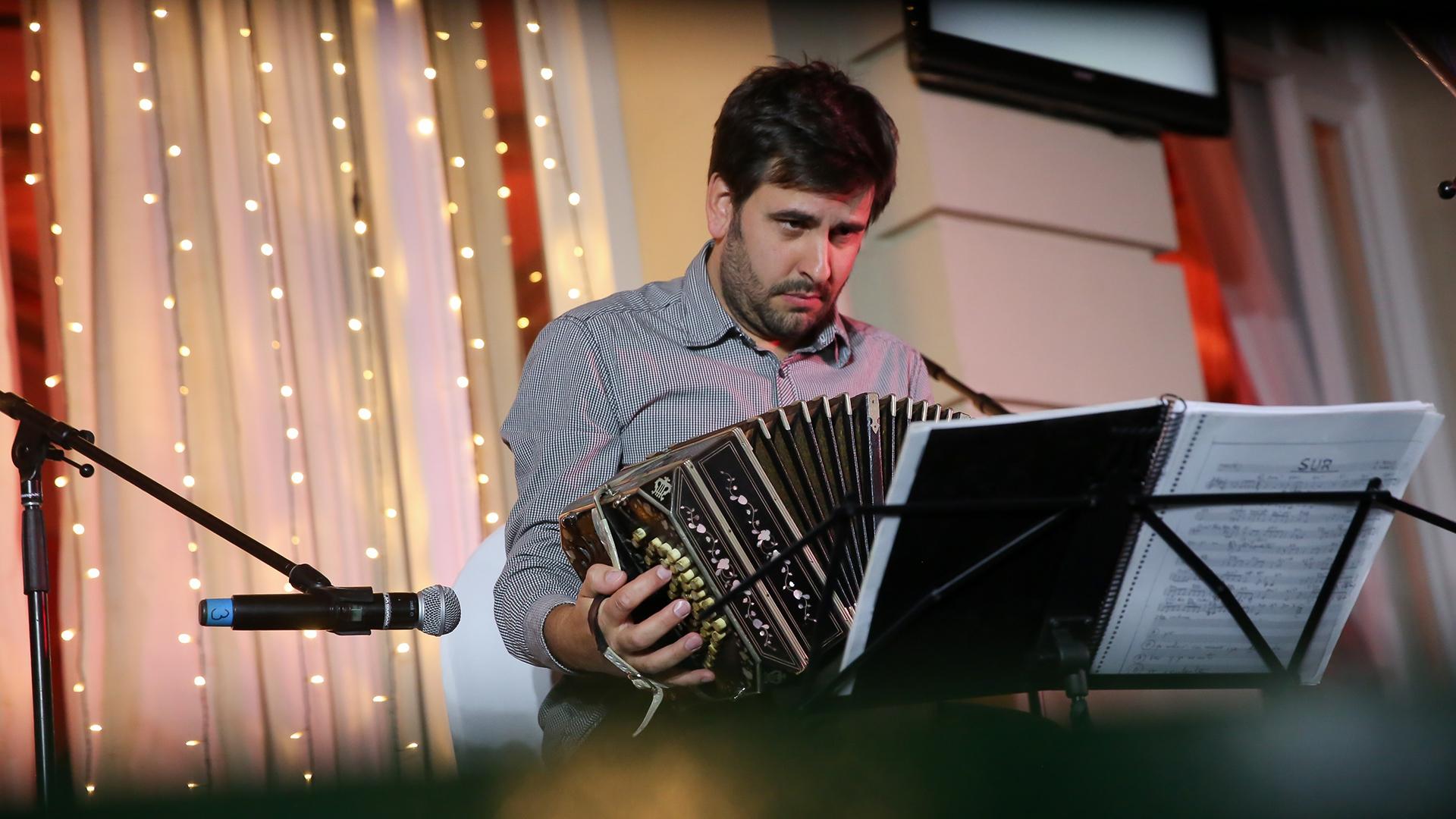 El músico Federico Siksnys