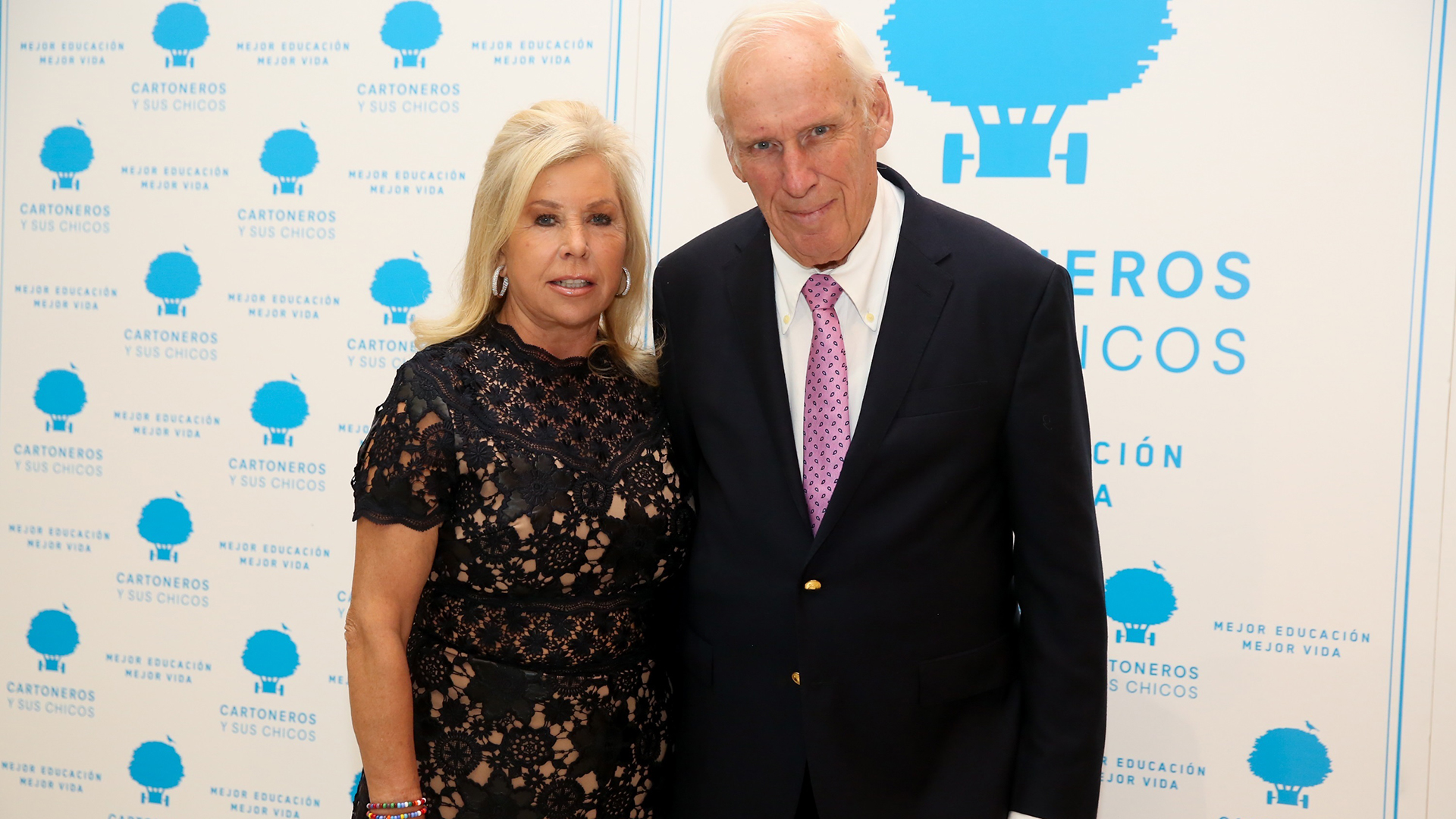 La artista suiza, Jenny Dreyfuss, y su marido