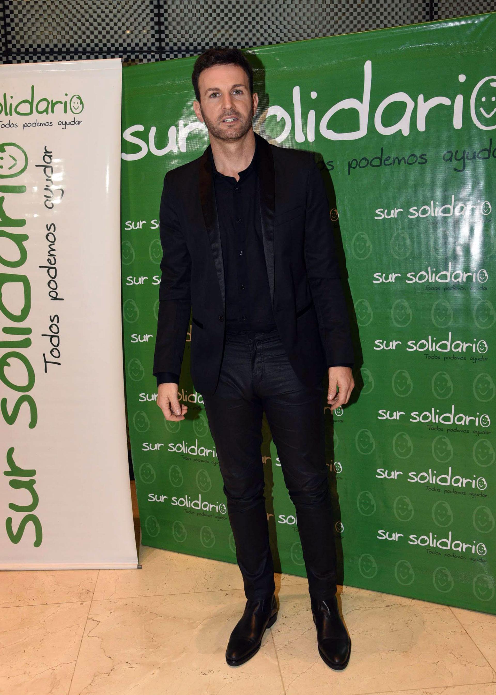 El cantante Axel realizó una cena para recaudar fondos para la Fundación Sur Solidario (Teleshow)