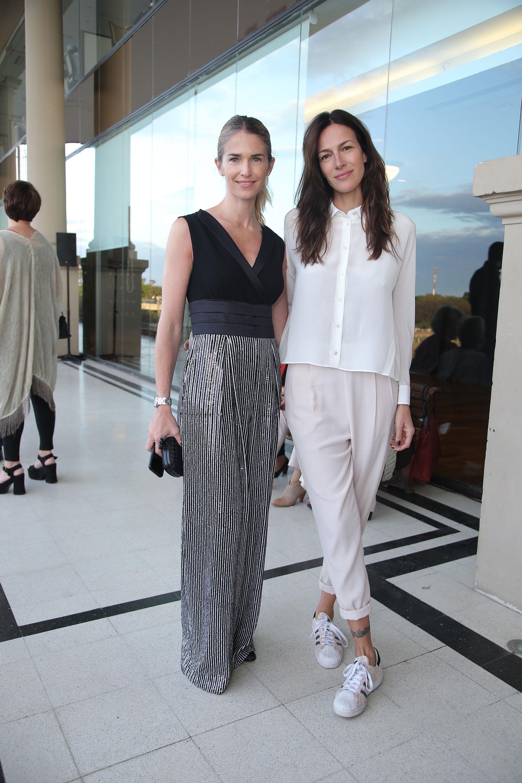 Las modelos Julieta Spina y Dolores Trull