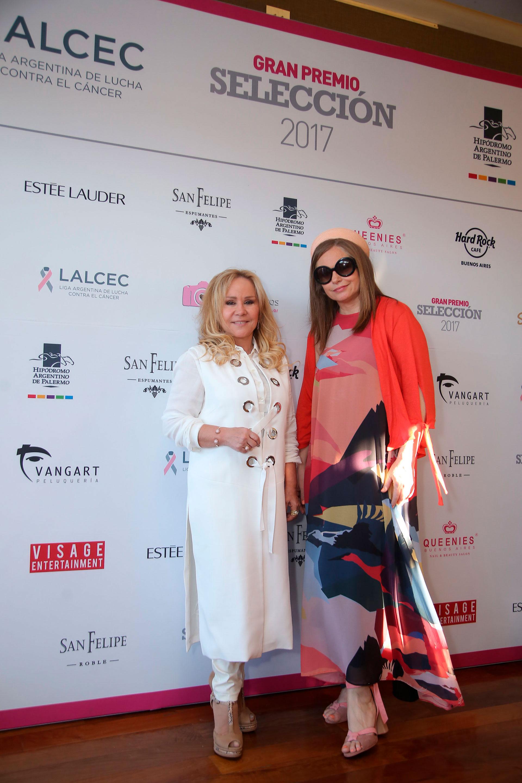 La diseñadora de joyas Edith Miroznik y Gabriela Vidal