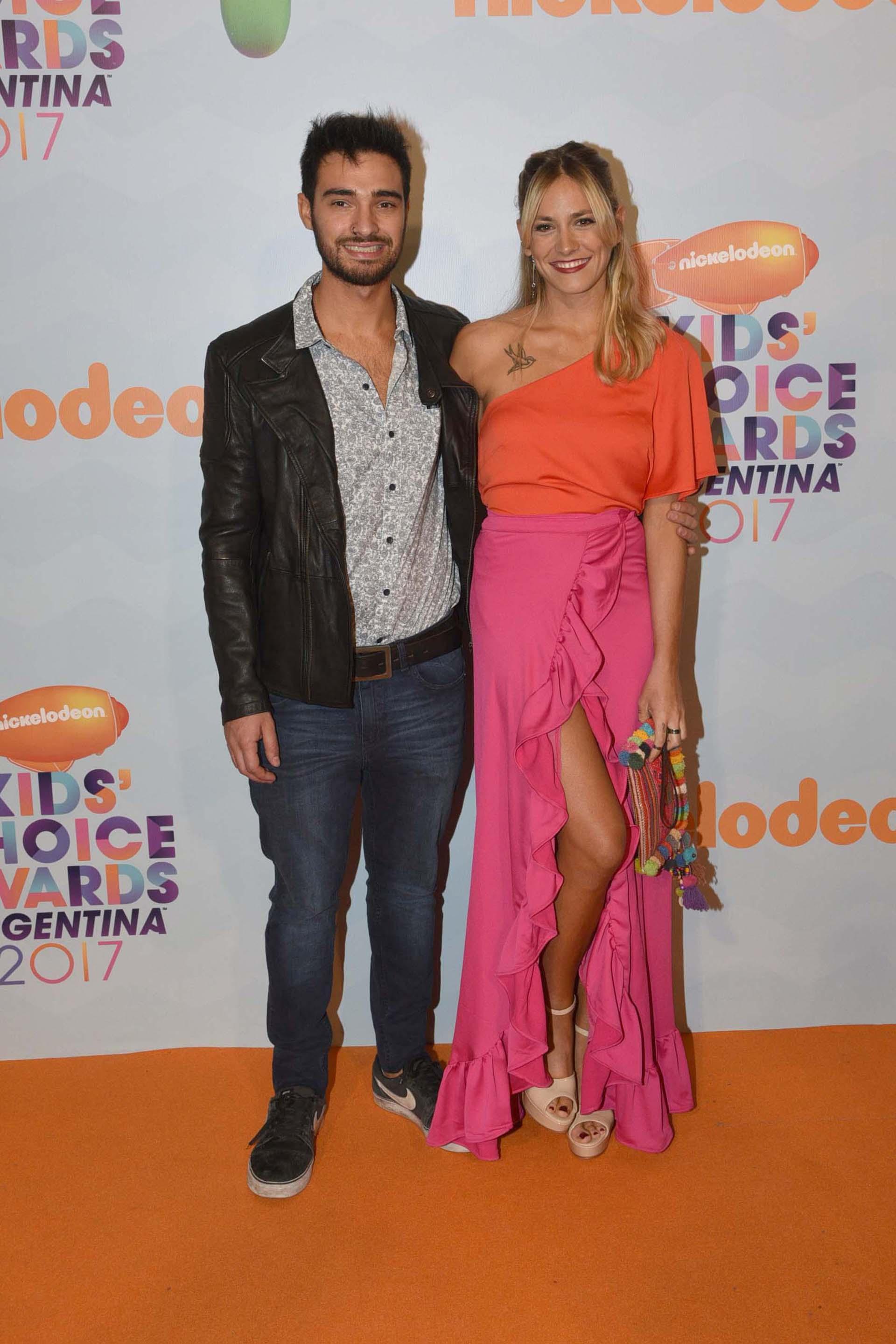 Rochi Igarzabal y su novio