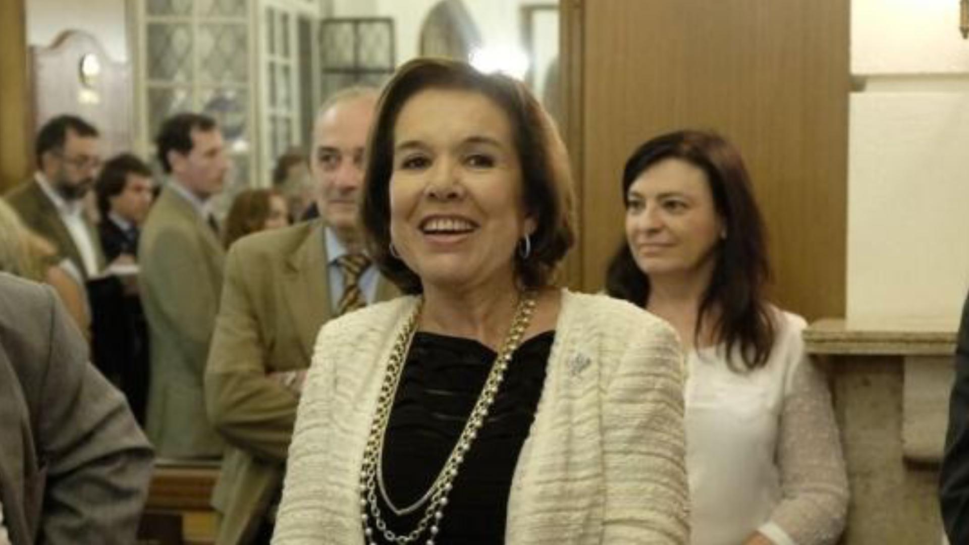 La jueza María Lilia Gómez Alonso de Díaz Cordero, titular de la Asociación de Magistrados