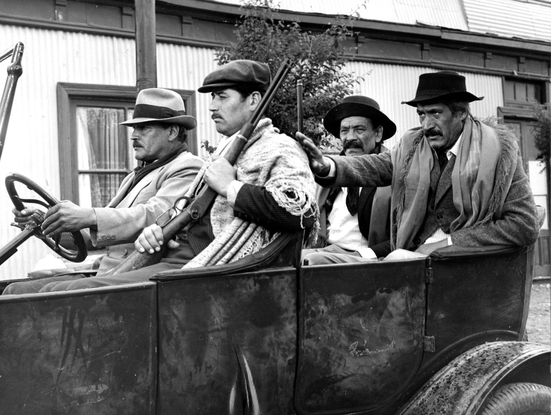 En Patagonia Rebelde, que se estrenó en 1974.
