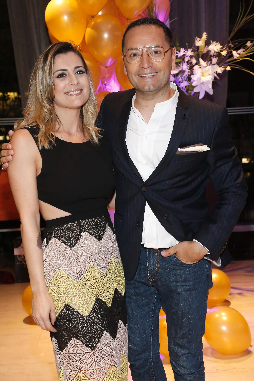 Eva Bernardi y Fabián Medina Flores