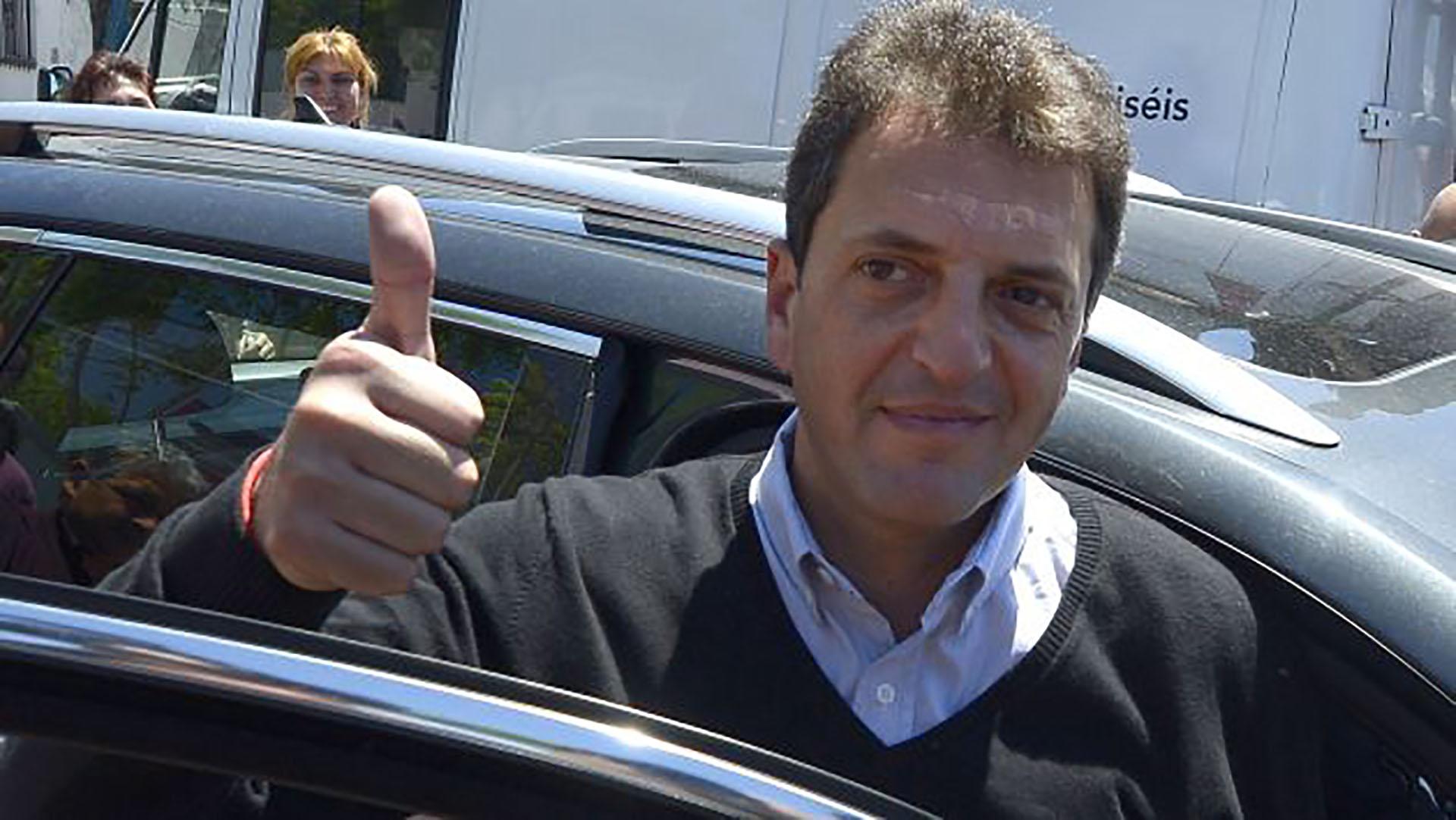 Sergio Massa aseguró que seguirá trabajando como una oposición responsable