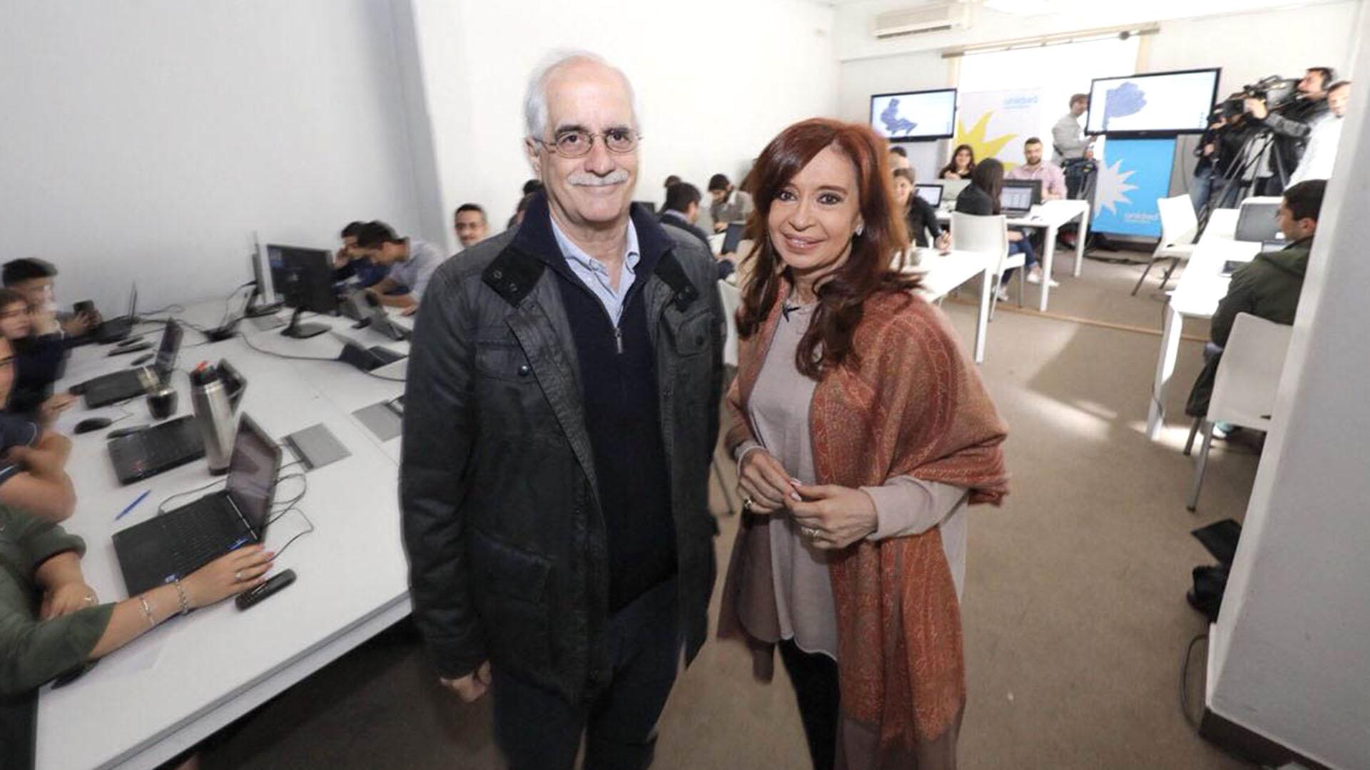 Jorge Taiana y Cristina Kirchner