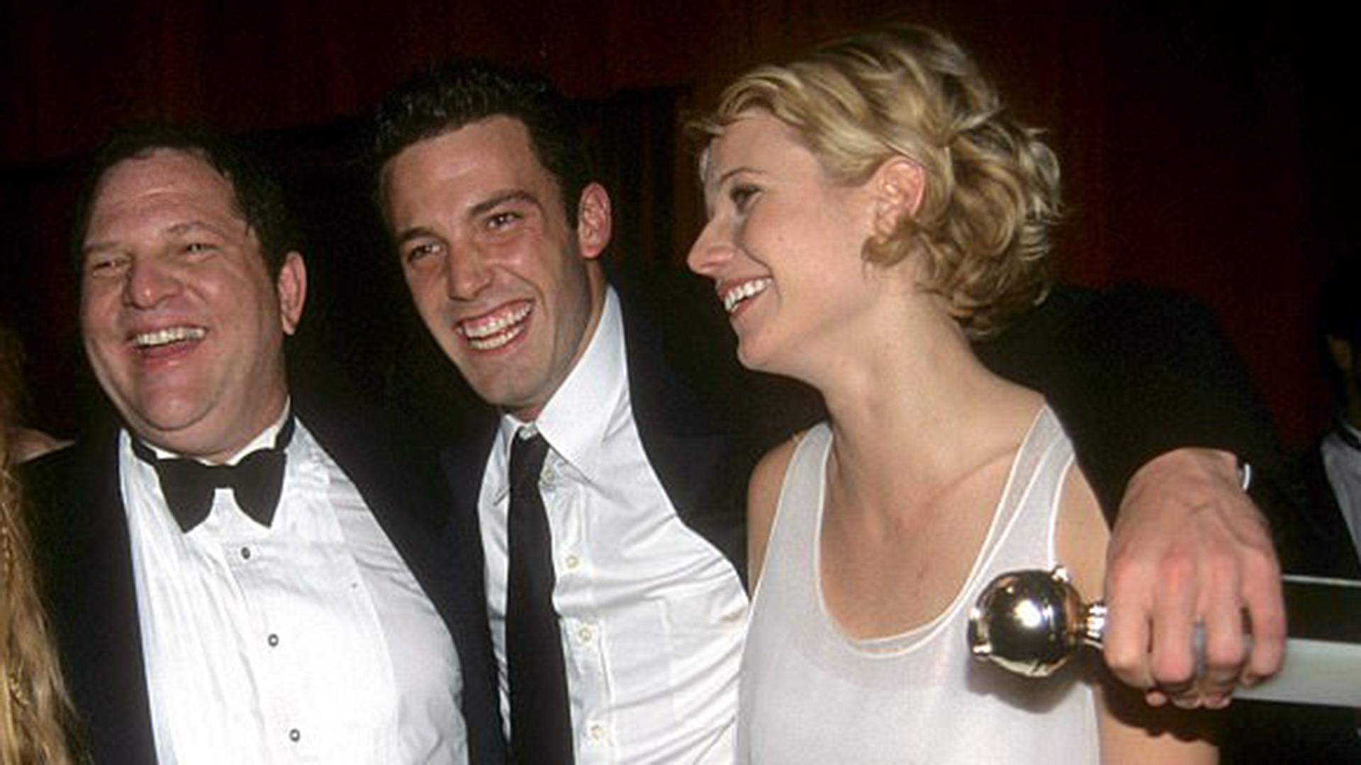"""Gwyneth Paltrow denunció que fue acosada por Harvey Weinstein, el hombre que la llevó al estrellato y más tarde la ayudó a ganar un premio de la Academia por """"Shakespeare in Love"""" (Getty)"""