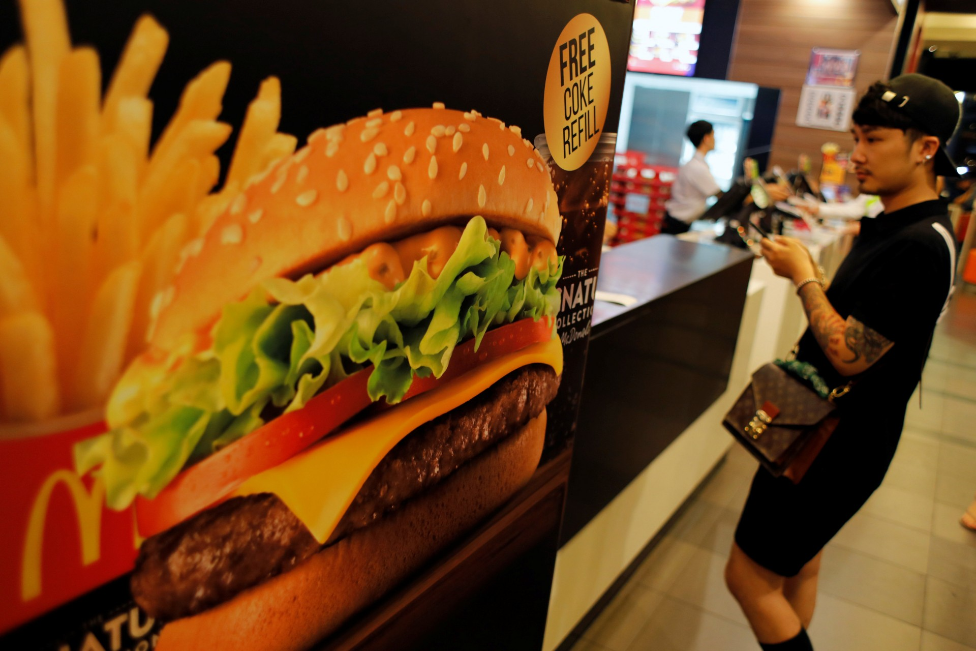 La compañía de comida rápida le apostará a mejorar la calidad de los ingredientes de las hamburguesas clásicas (Foto: Reuters)