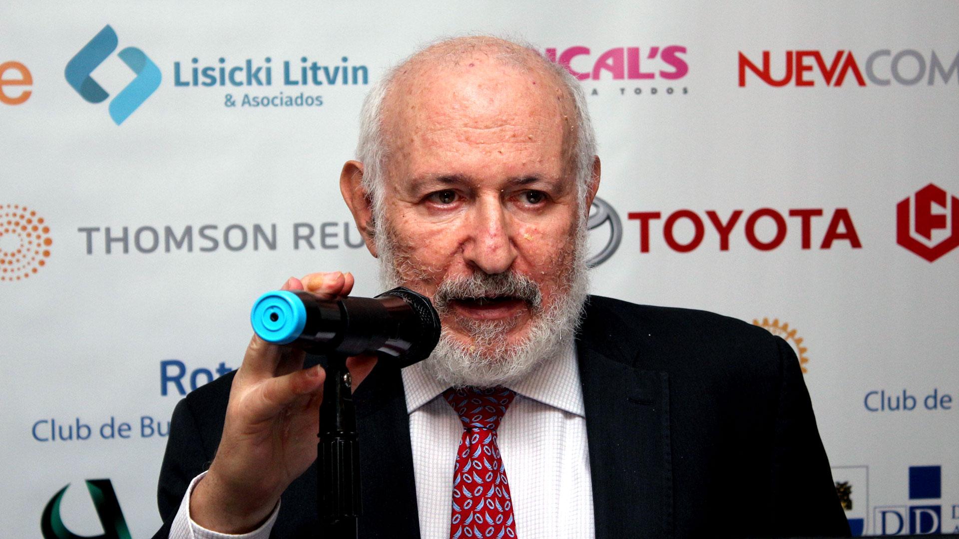 El ex presidente del Banco Central Mario Blejer