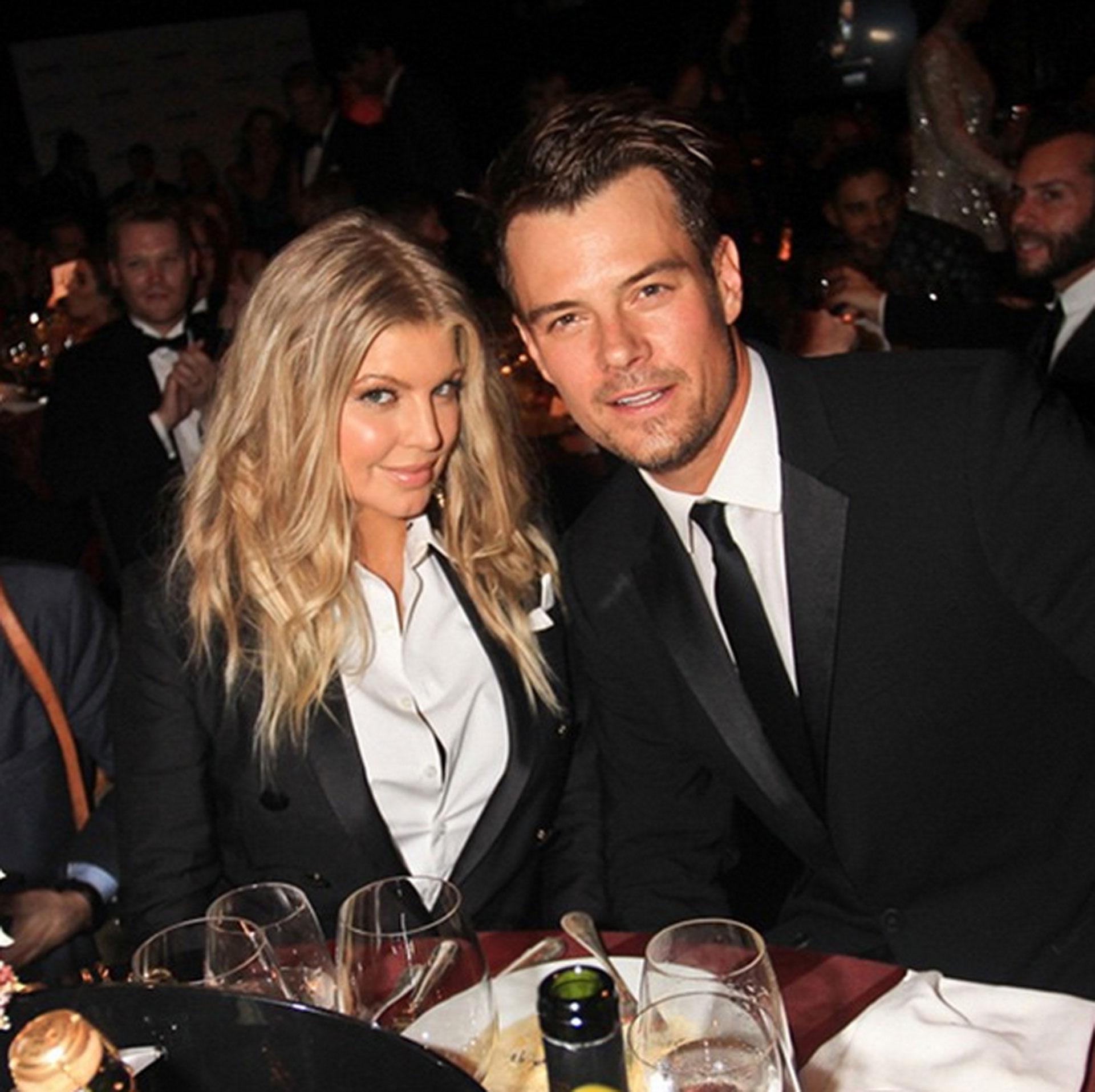 Josh Duhamel, con su ex Fergie