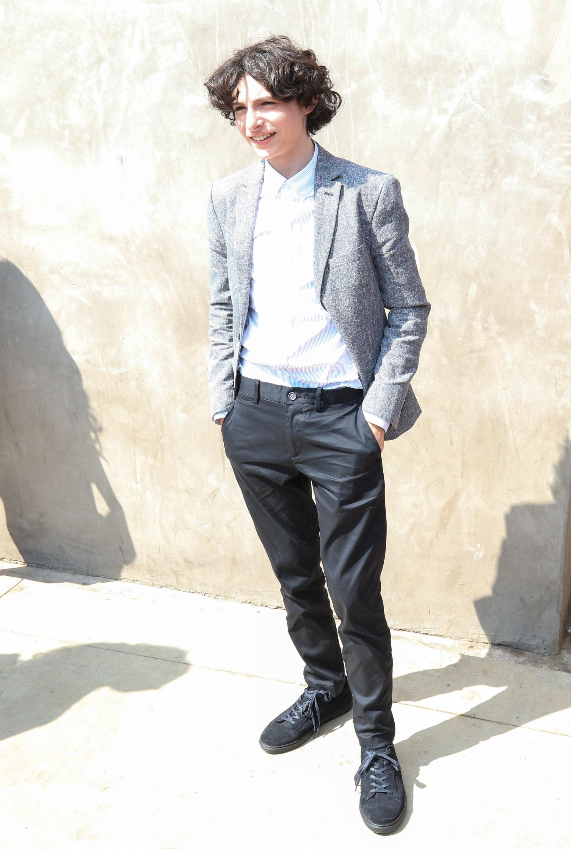 Finn Wolfhardn fue elegido para ser la tapa de i-D, una de las revistas de moda más icónicas. Su estilo refinado cautivó a la industria