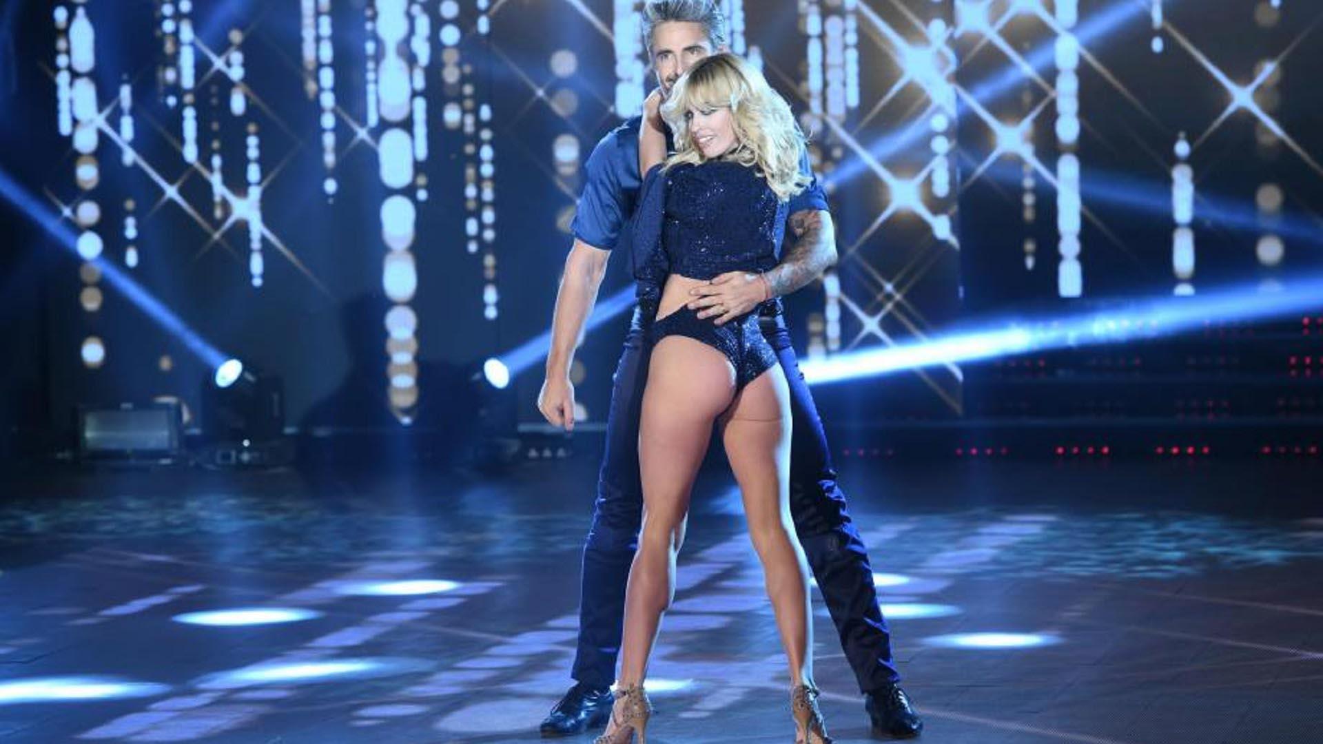 """Rocío Guirao Díaz y Nicolás Paladini en el """"Bailando 2017"""""""
