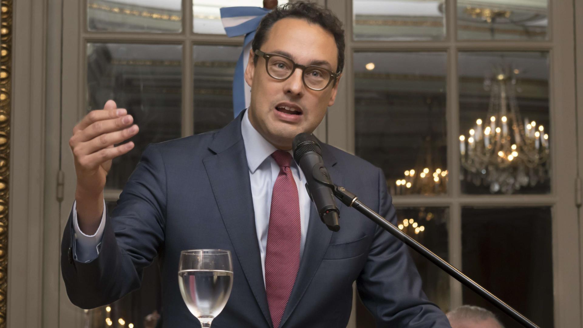 Leandro Cuccioli, director de la AFIP, resaltó la labor de su antecesor, Alberto Abad