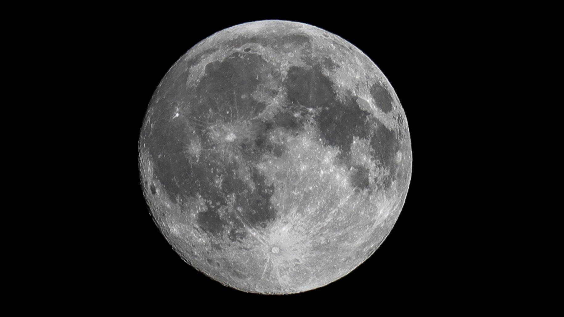Superluna: Las postales que dejó en el primer día del año [FOTOS]