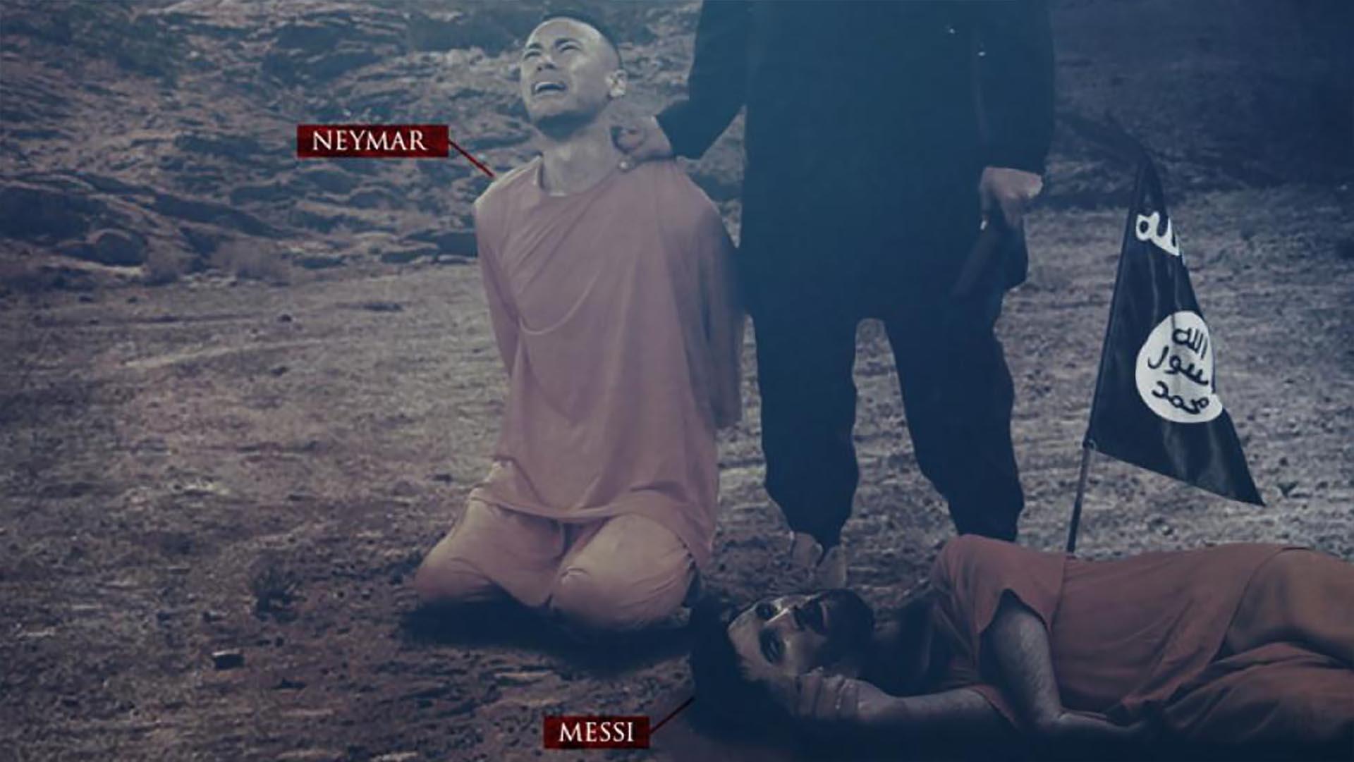 El ISIS ya había amenazado a Messi y a Neymar