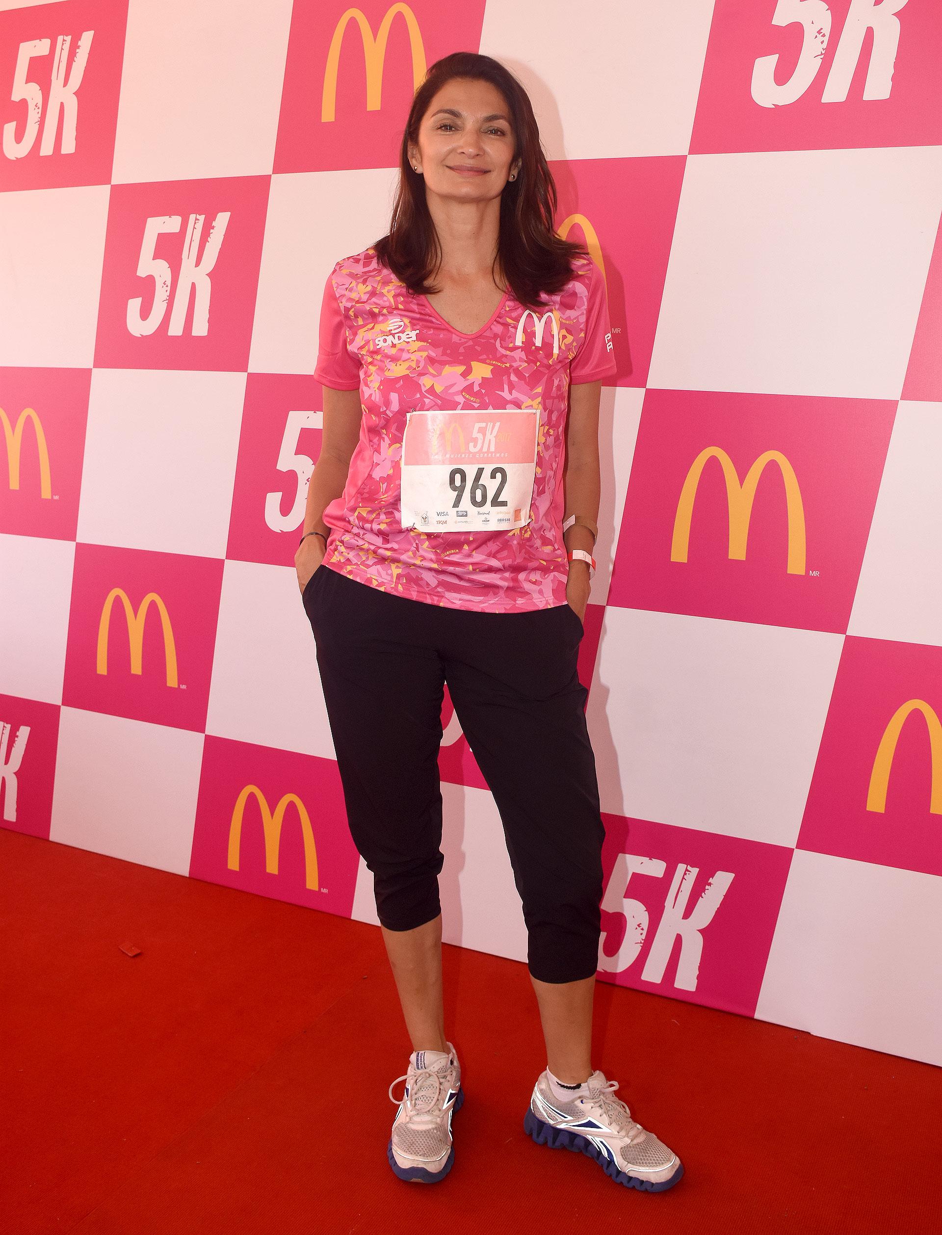 Mariana Arias dijo presente en el evento