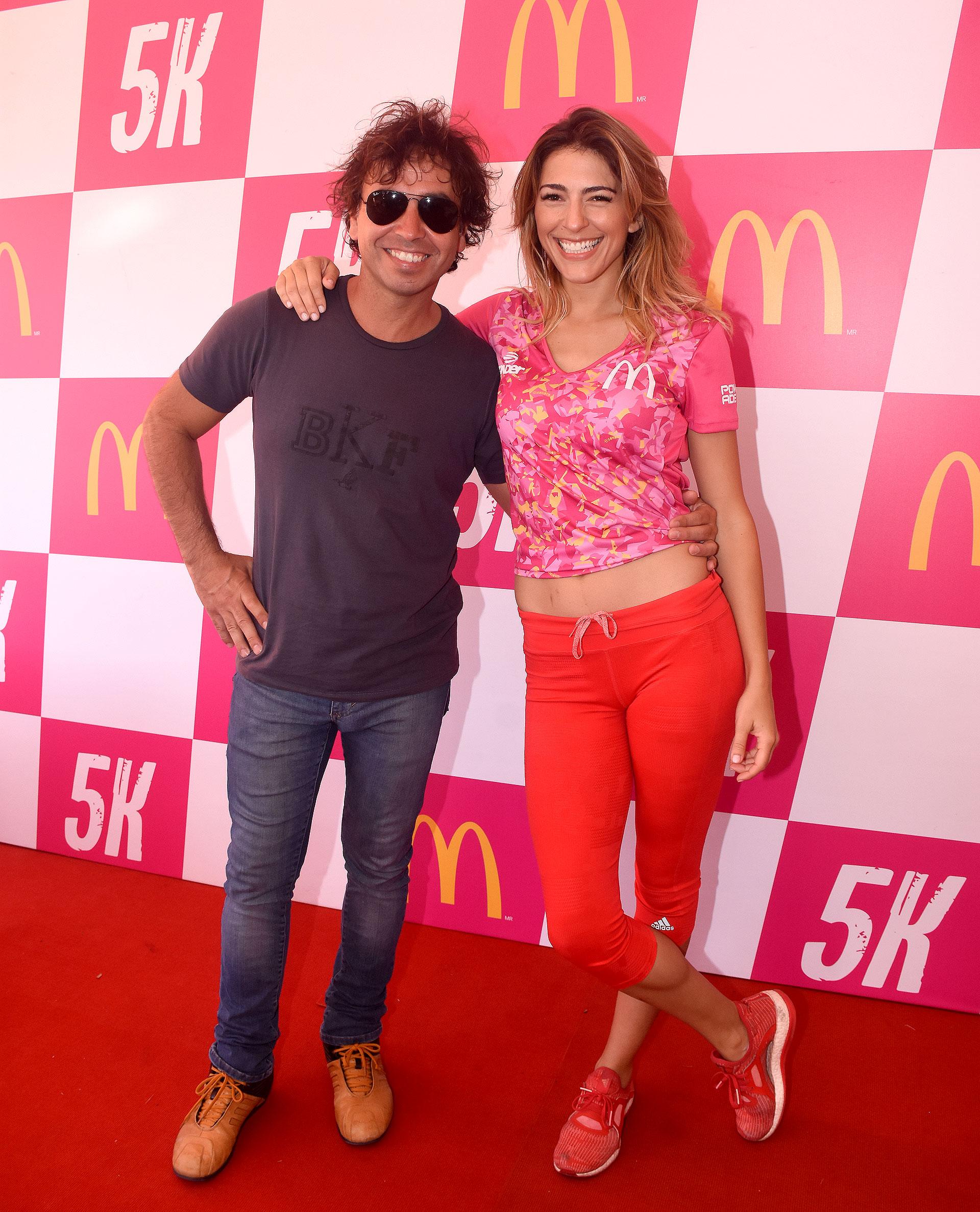 Gonzalito Rodríguez y Nati Franzoni fueron los conductores del evento