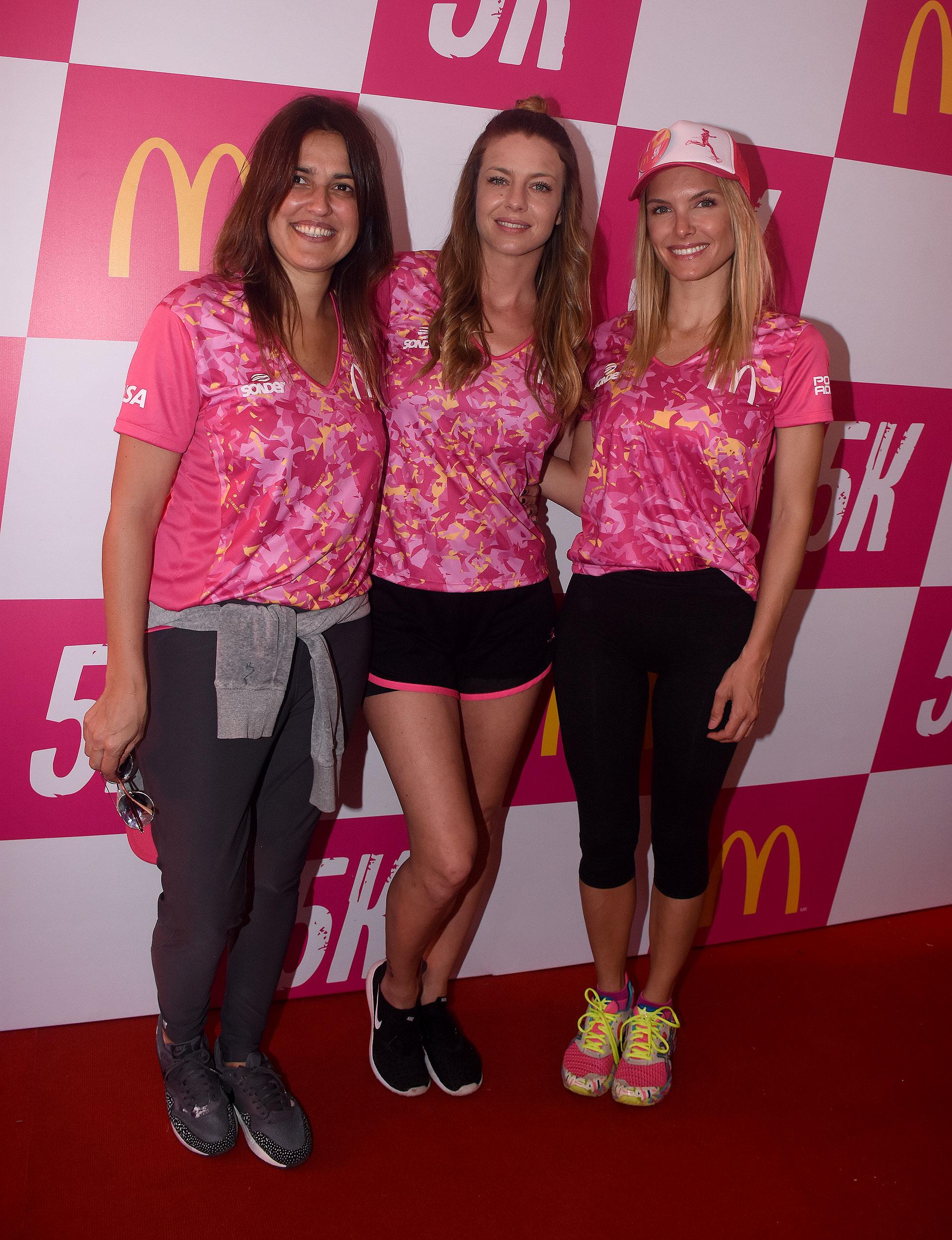 Maju Lozano, Gege Neumann y Sofía Zamolo, listas para correr
