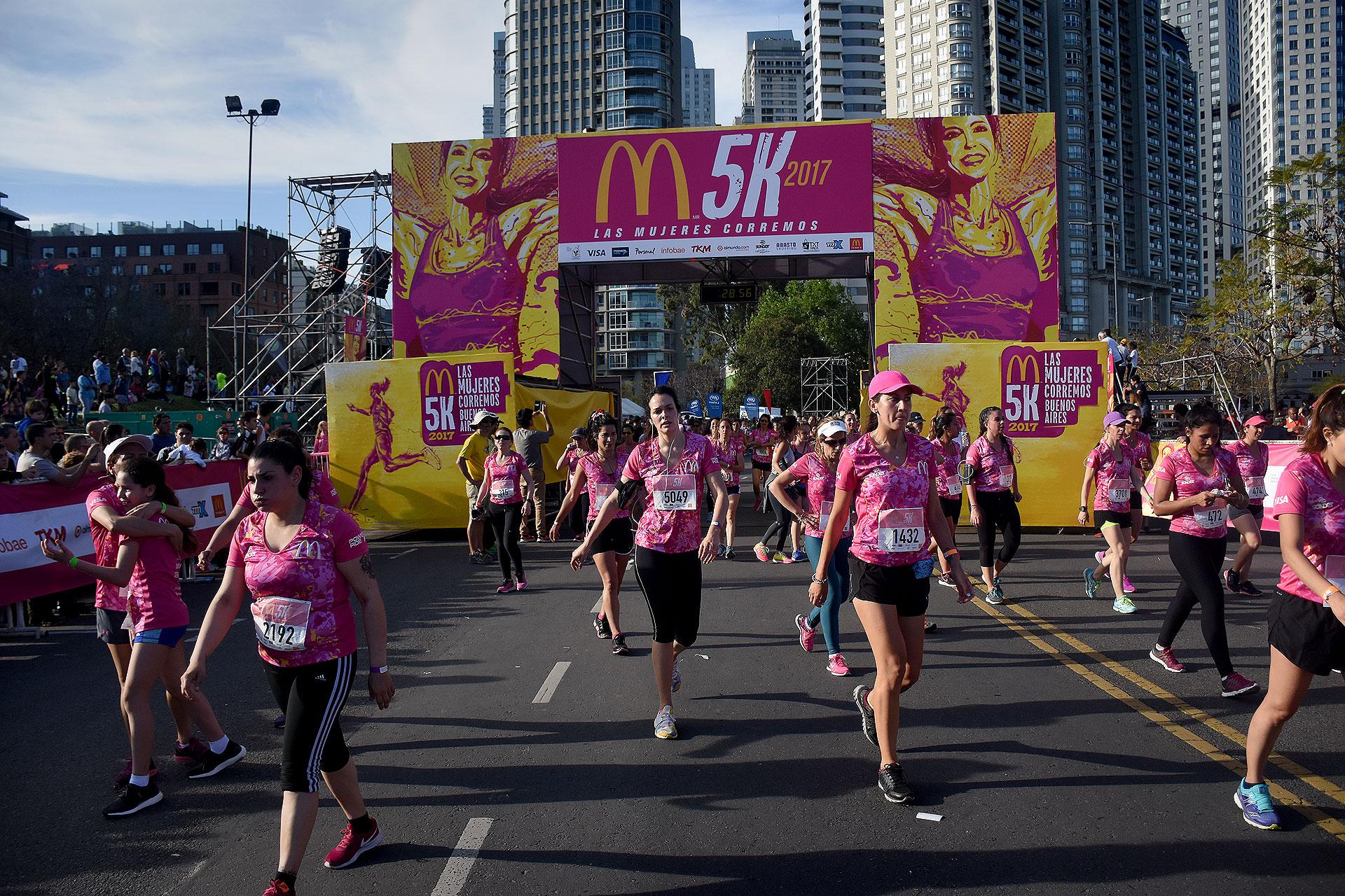McDonald's 5K Las Mujeres Corremos, tuvo lugar hoy en Buenos Aires (Nicolás Stulberg)