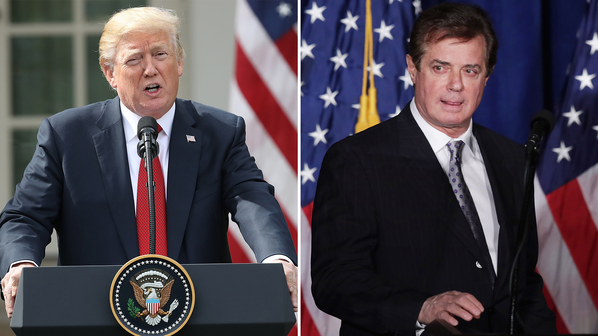 Donald Trump y Paul Manafort